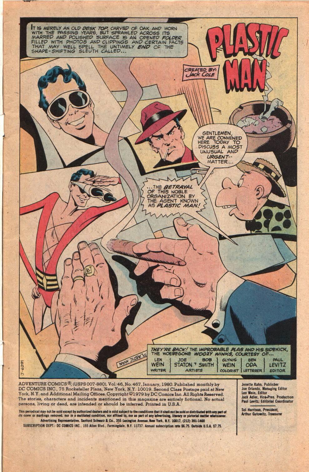 Read online Adventure Comics (1938) comic -  Issue #498 - 3