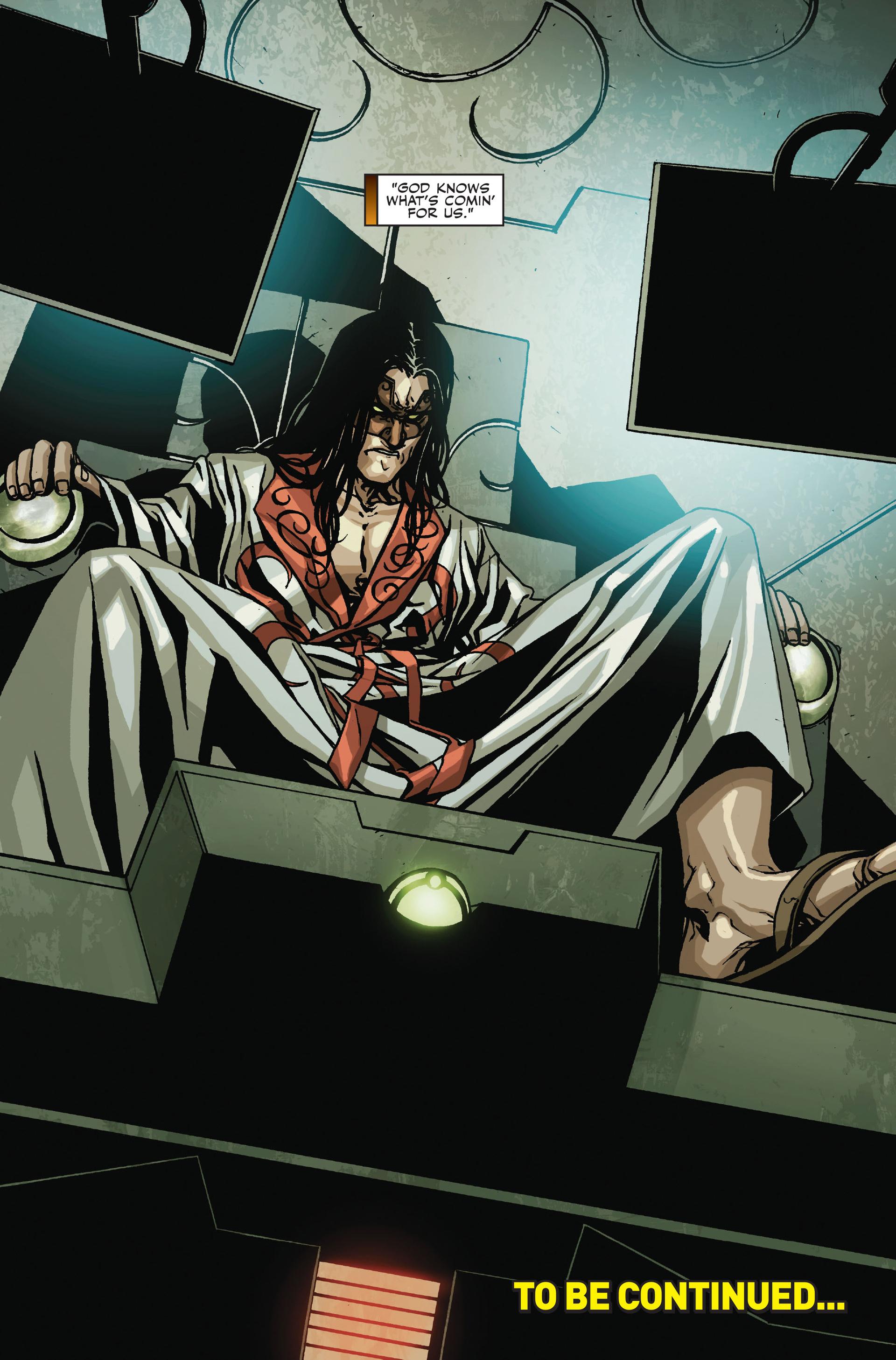Read online Secret Warriors comic -  Issue #18 - 24