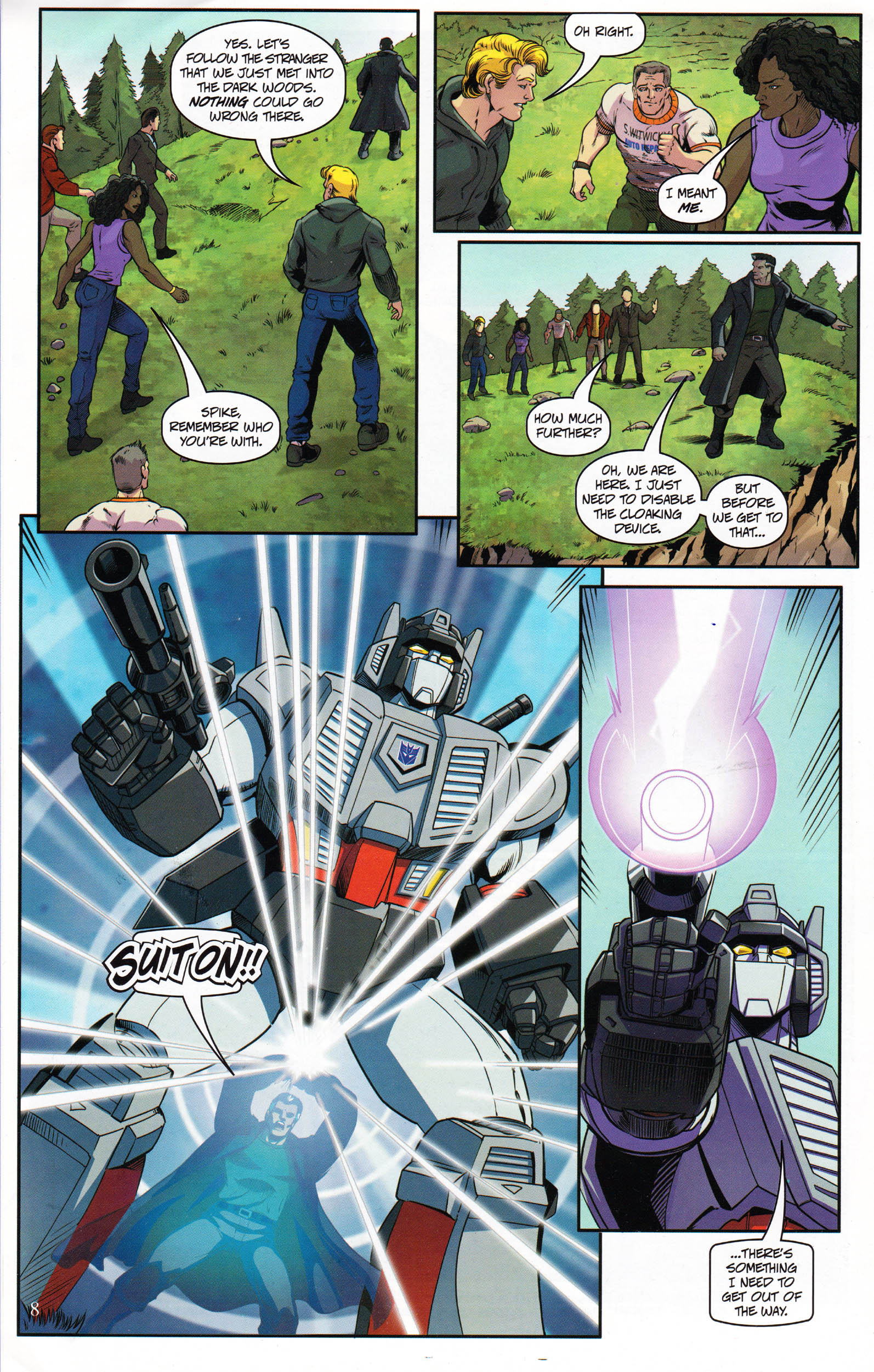 Read online Transformers: Collectors' Club comic -  Issue #69 - 8