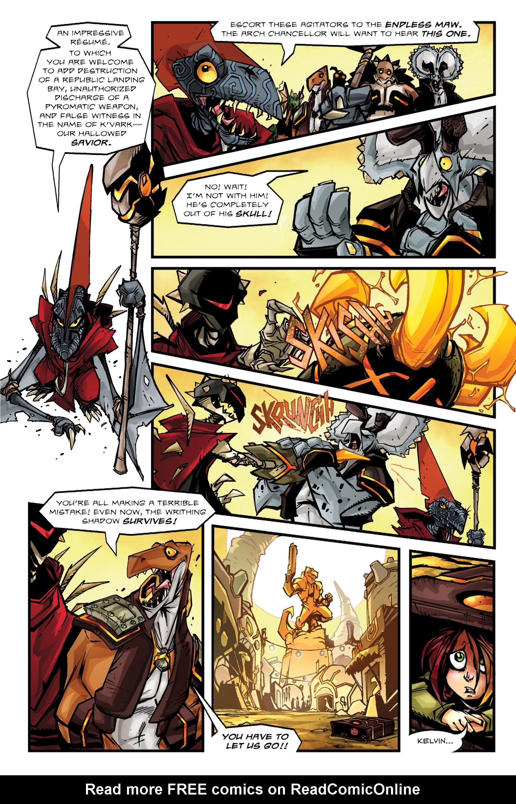 Read online Rexodus comic -  Issue # Full - 57
