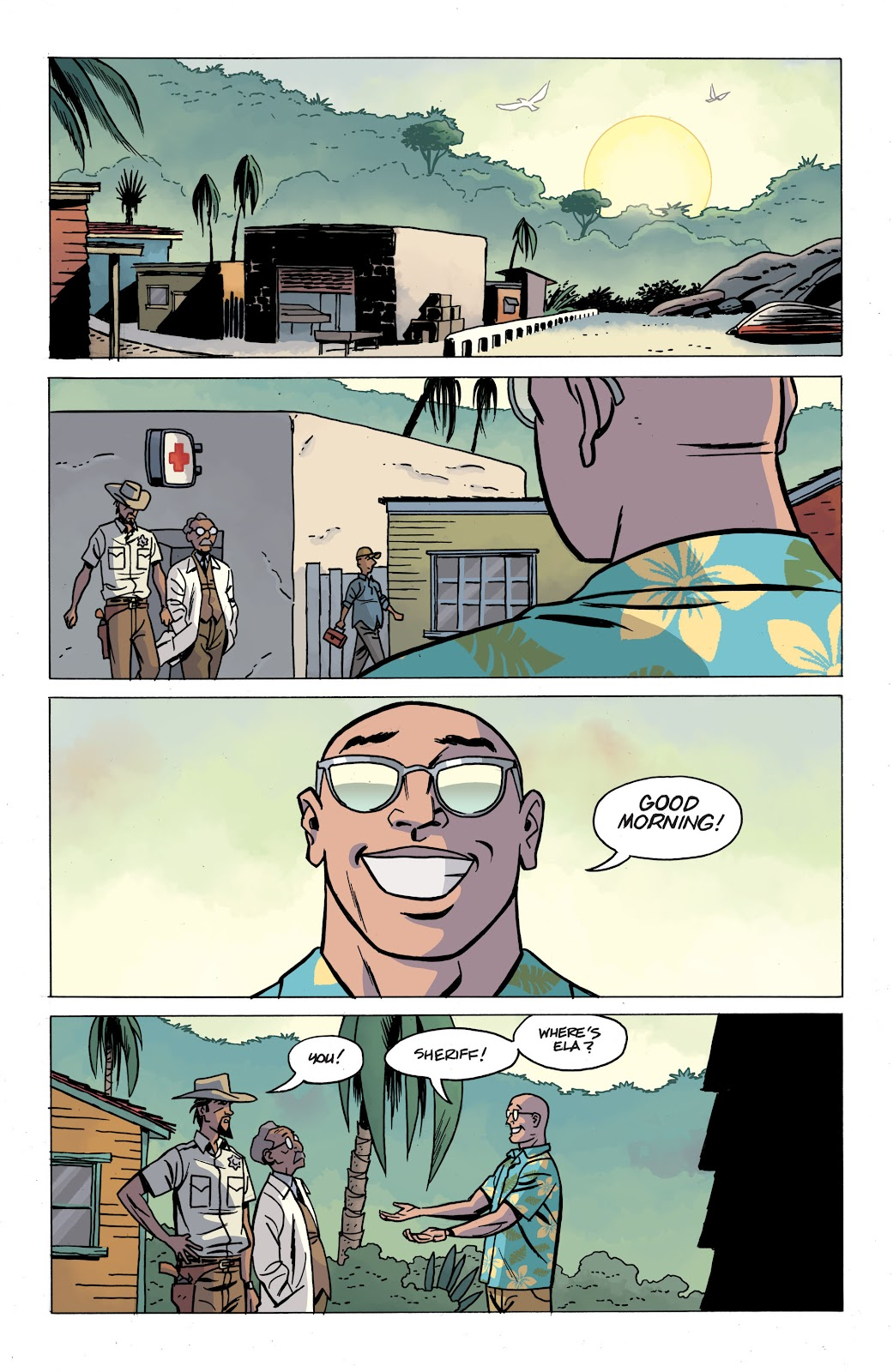 Read online The Twilight Children comic -  Issue #4 - 5