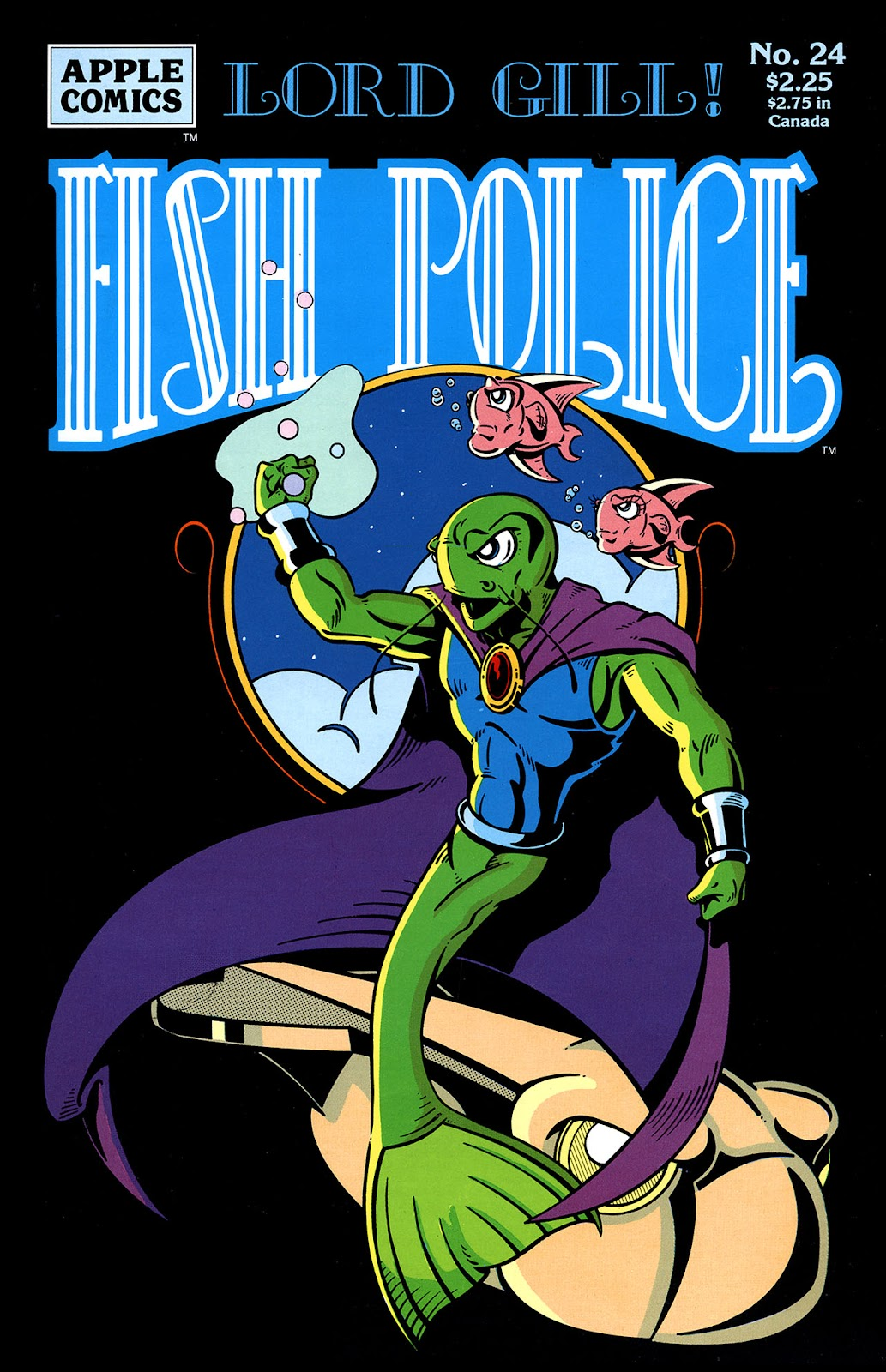 The Fish Police issue 24 - Page 1
