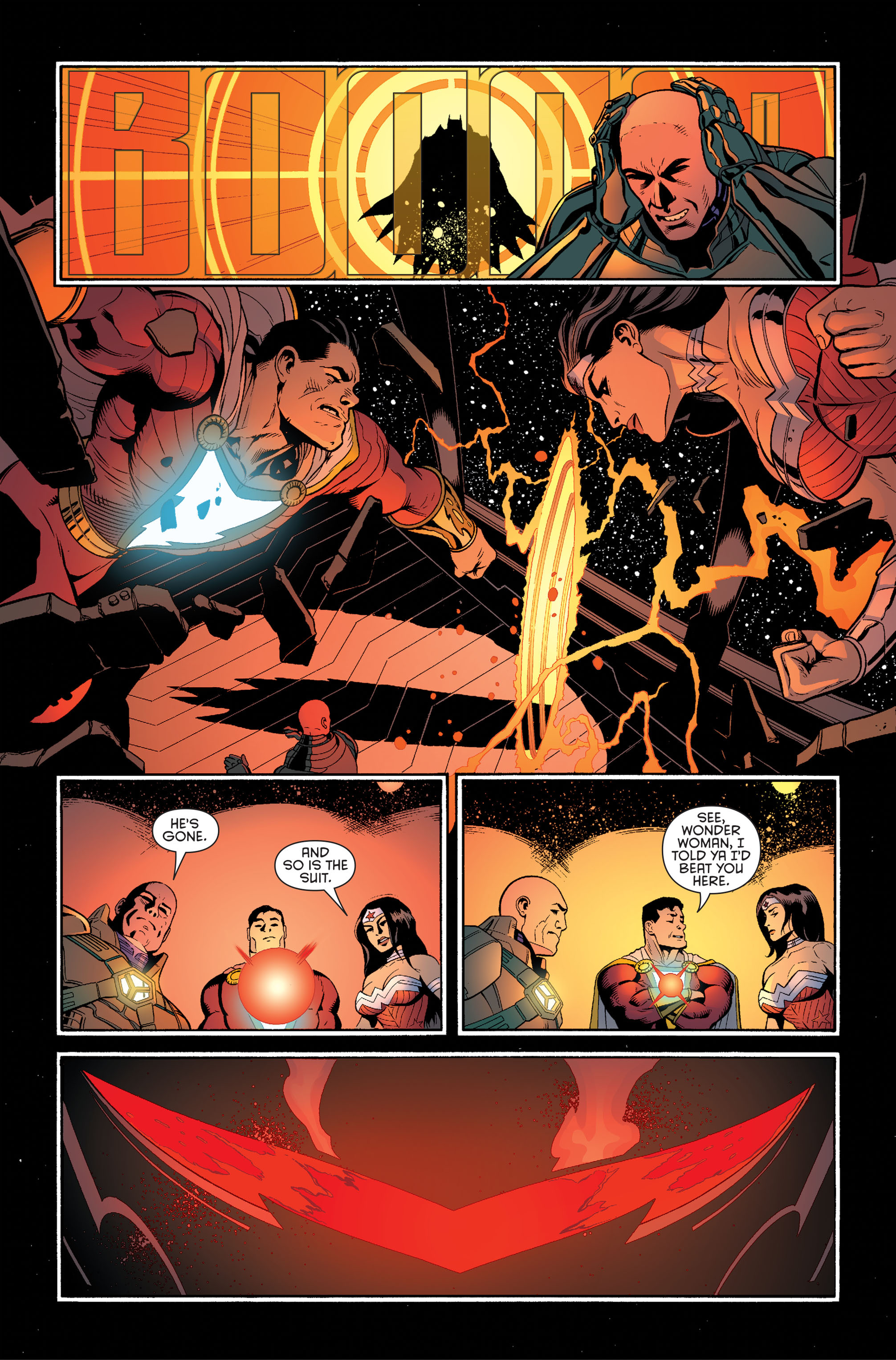 Read online Batman and Robin (2011) comic -  Issue #34 - 20