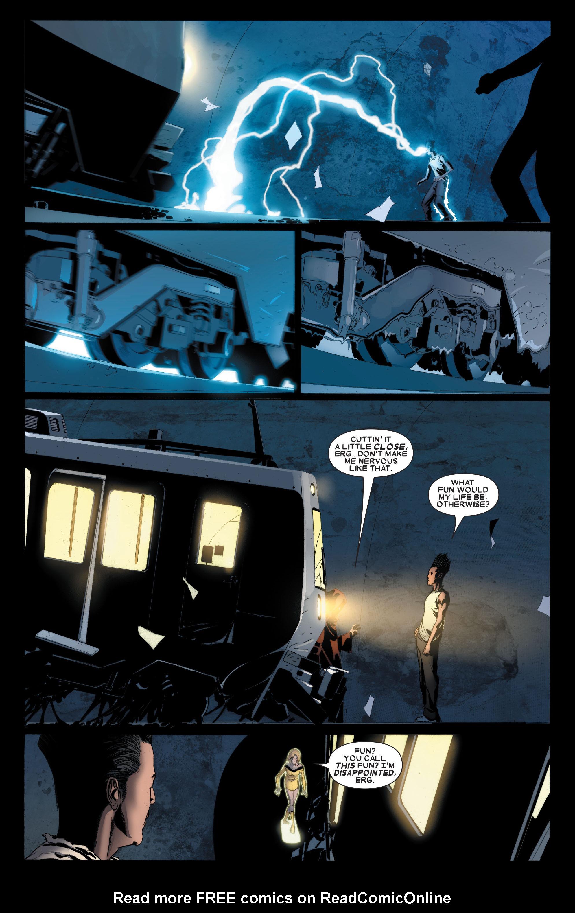 Read online Uncanny X-Men (1963) comic -  Issue #488 - 22
