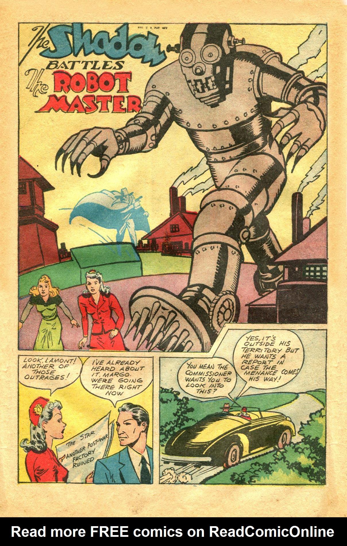 Read online Shadow Comics comic -  Issue #48 - 35