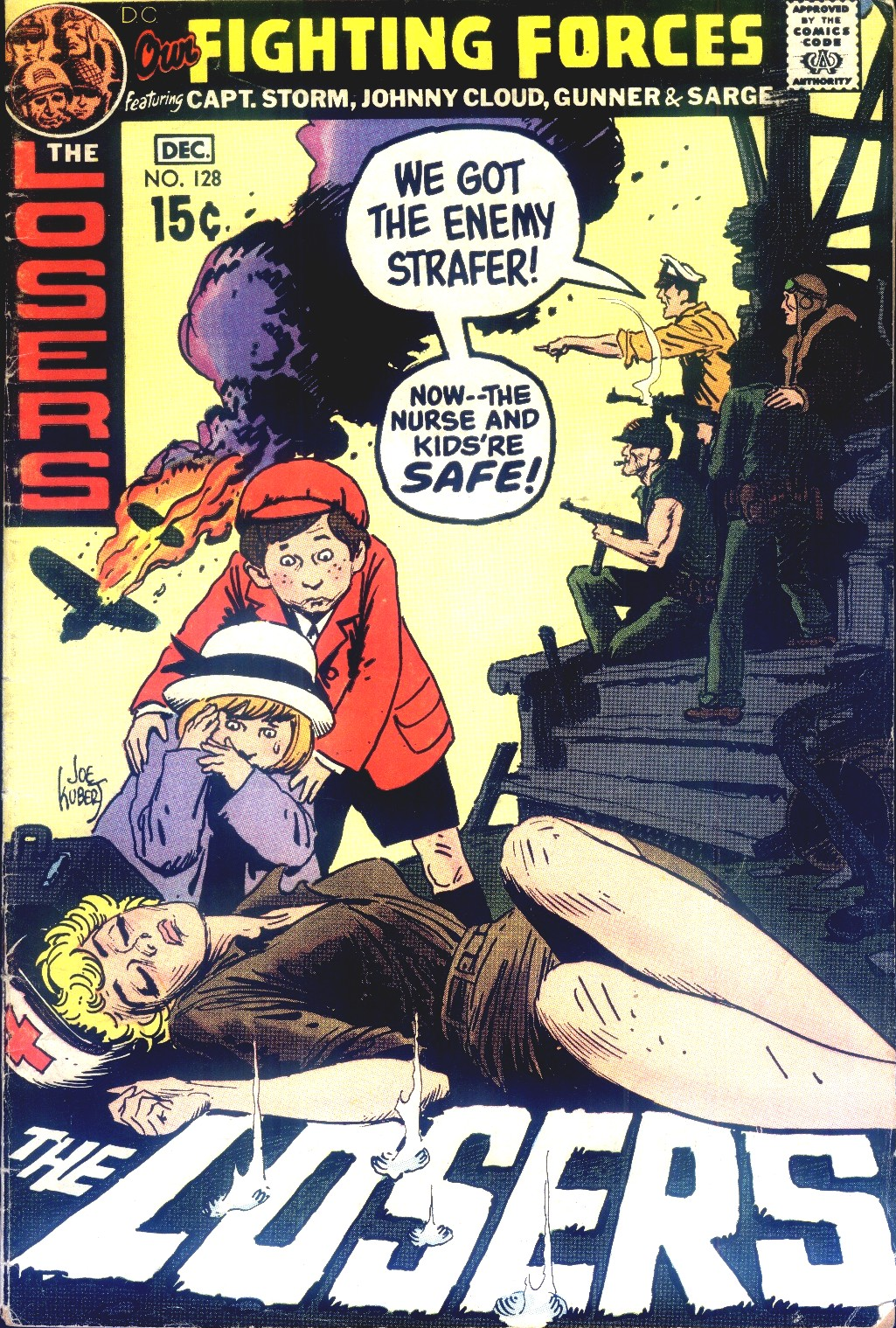 Our Fighting Forces (1954) issue 128 - Page 1