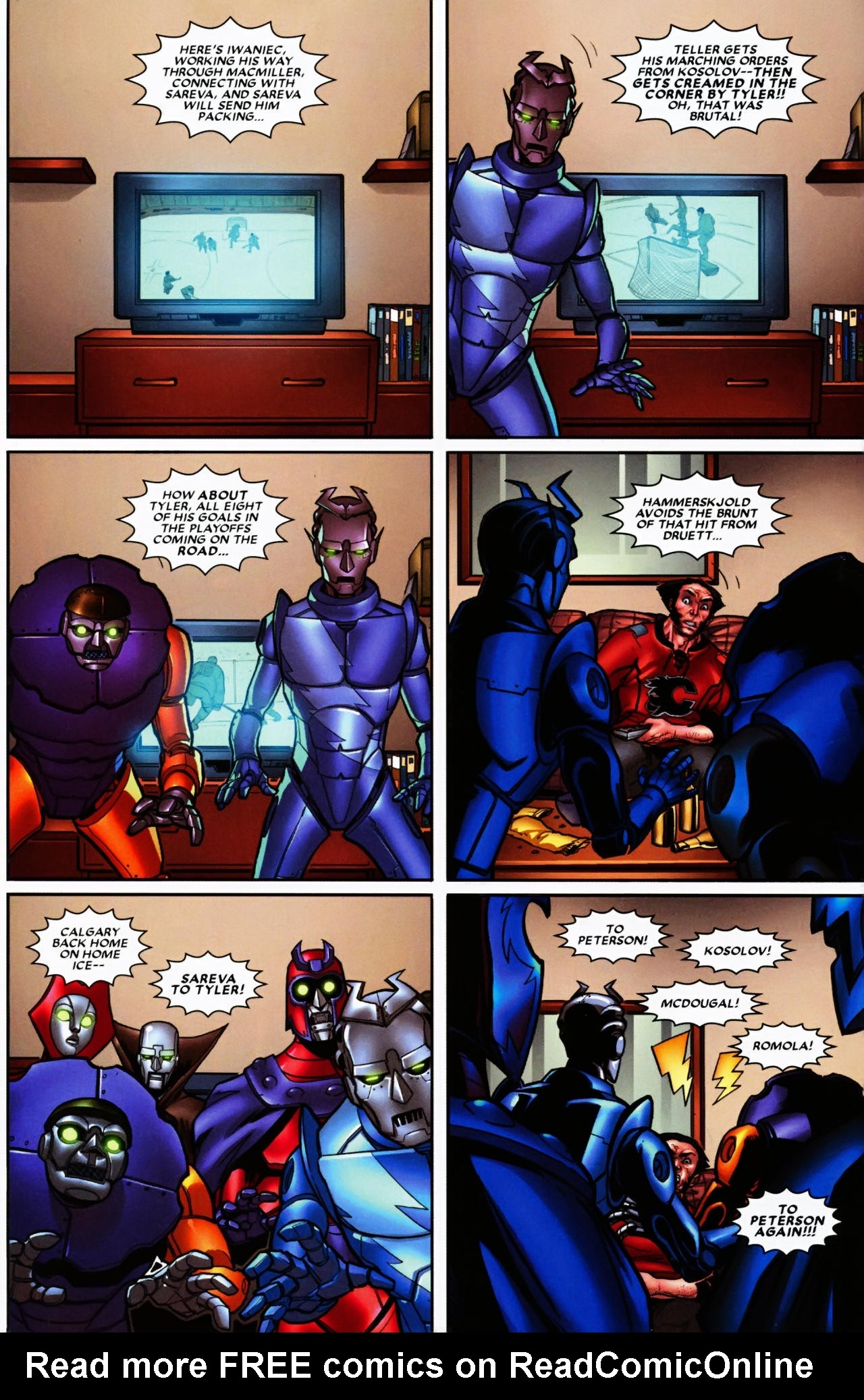 Read online Wolverine: First Class comic -  Issue #6 - 15