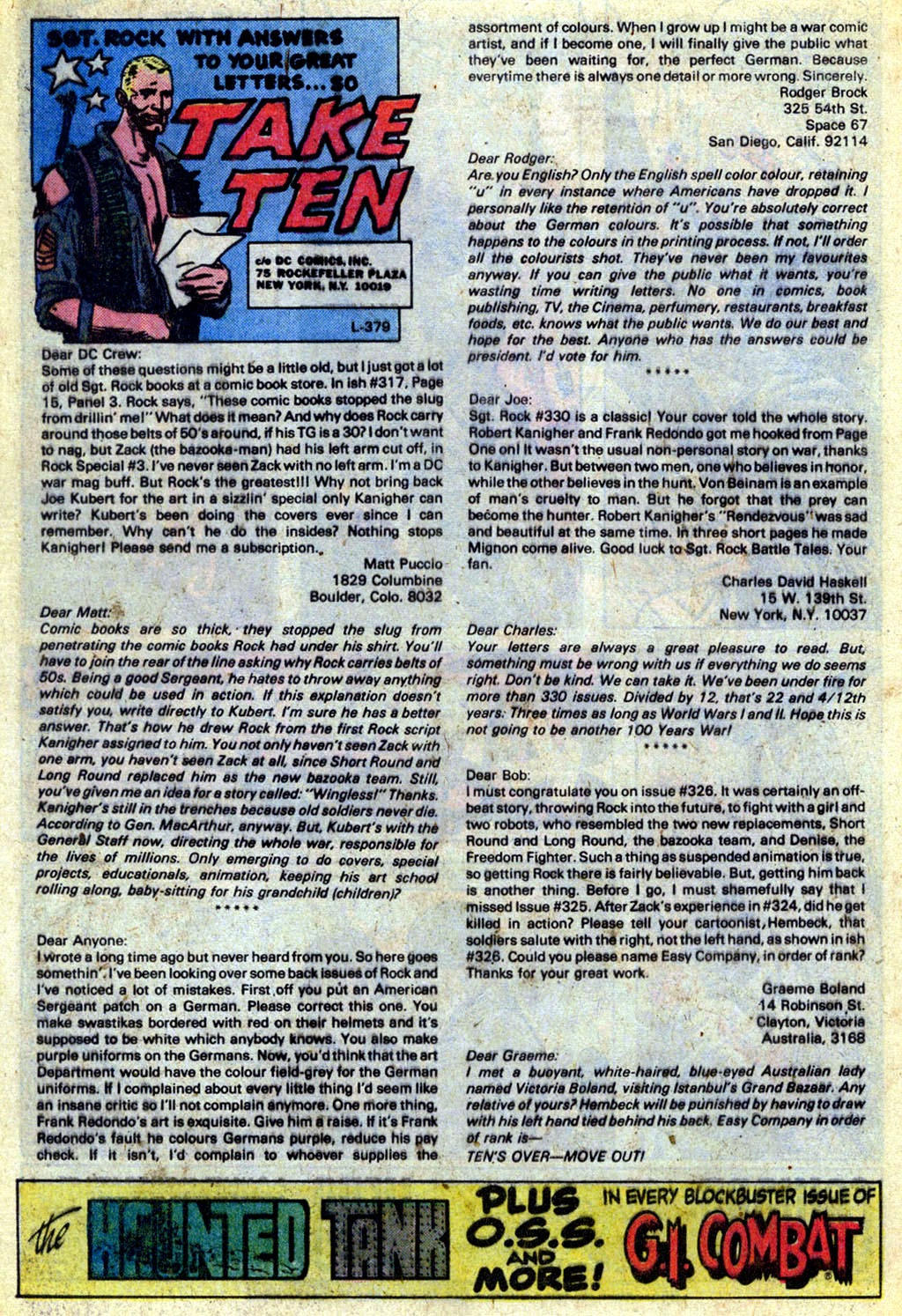 Read online Sgt. Rock comic -  Issue #336 - 19