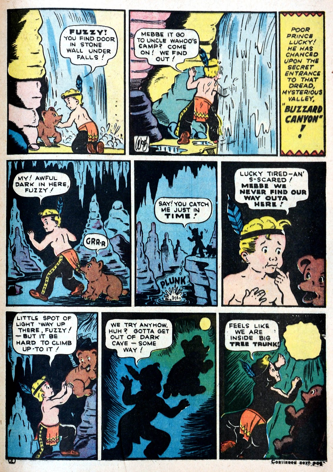 Read online Famous Funnies comic -  Issue #87 - 46