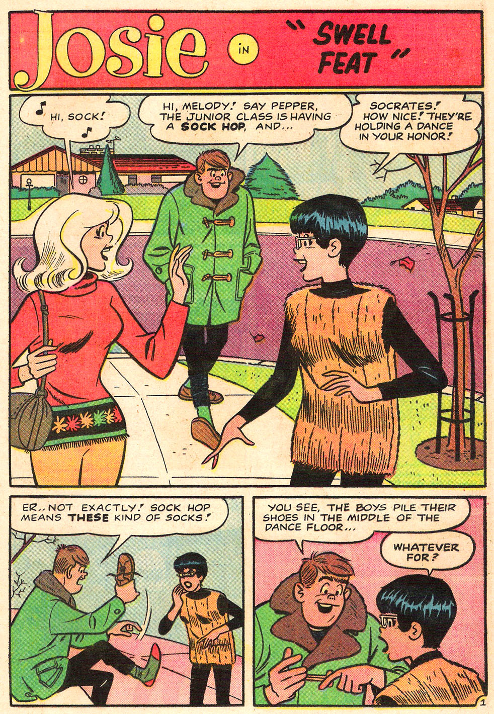 Read online She's Josie comic -  Issue #19 - 13