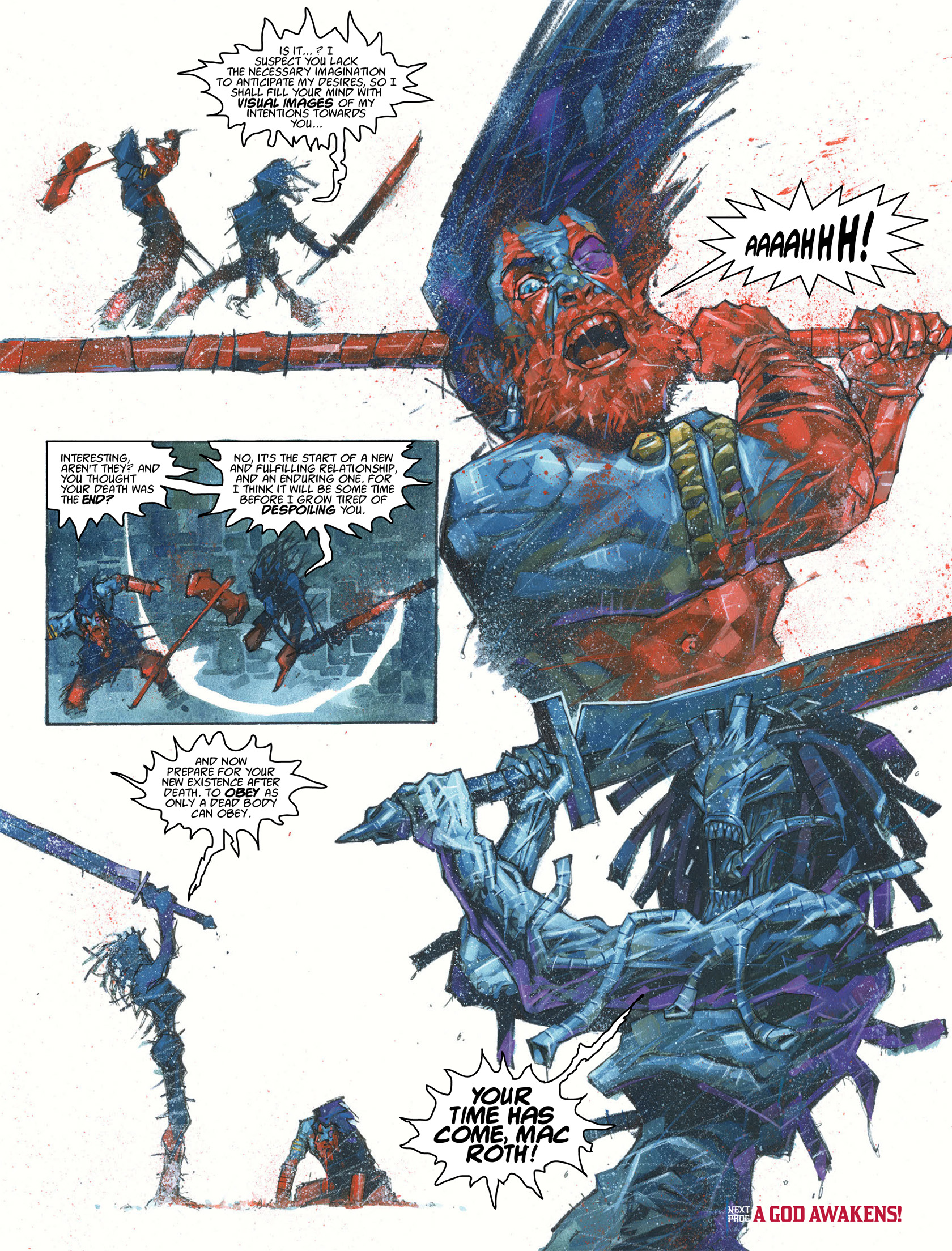 Read online 2000 AD comic -  Issue #1981 - 20