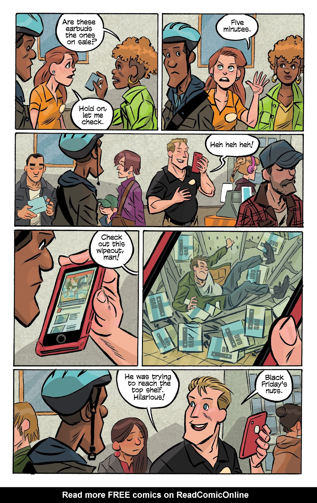 Read online Cellies comic -  Issue #6 - 9
