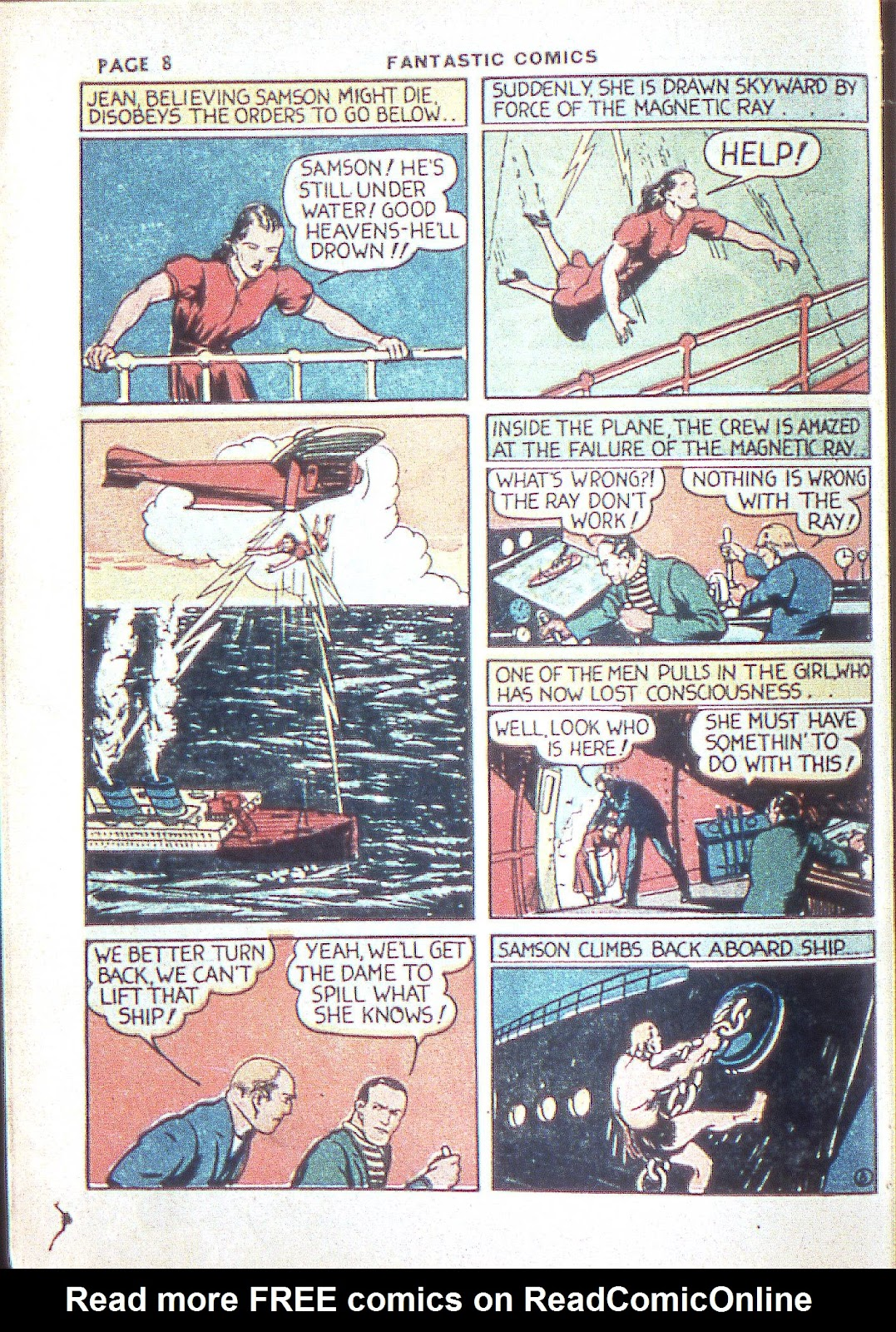 Read online Fantastic Comics comic -  Issue #3 - 11
