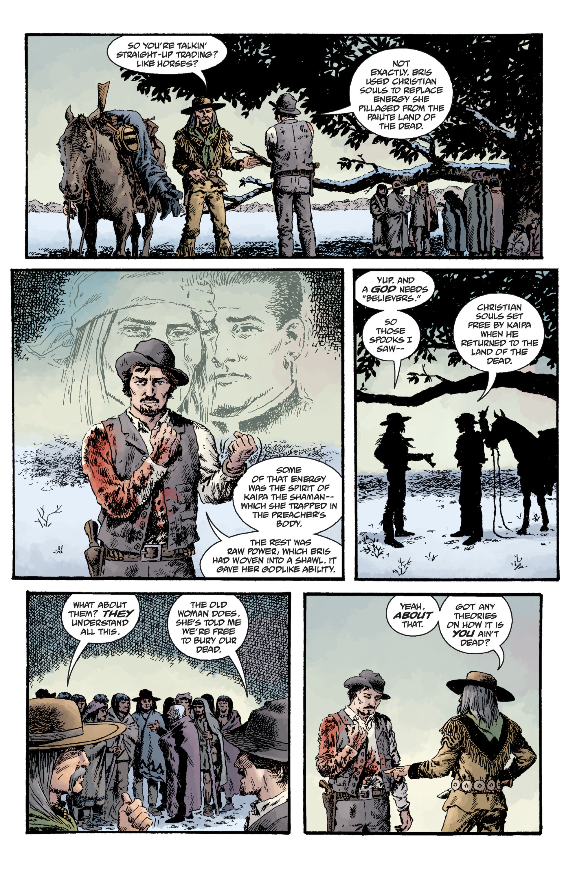 Read online Sir Edward Grey, Witchfinder: Lost and Gone Forever comic -  Issue # TPB - 120