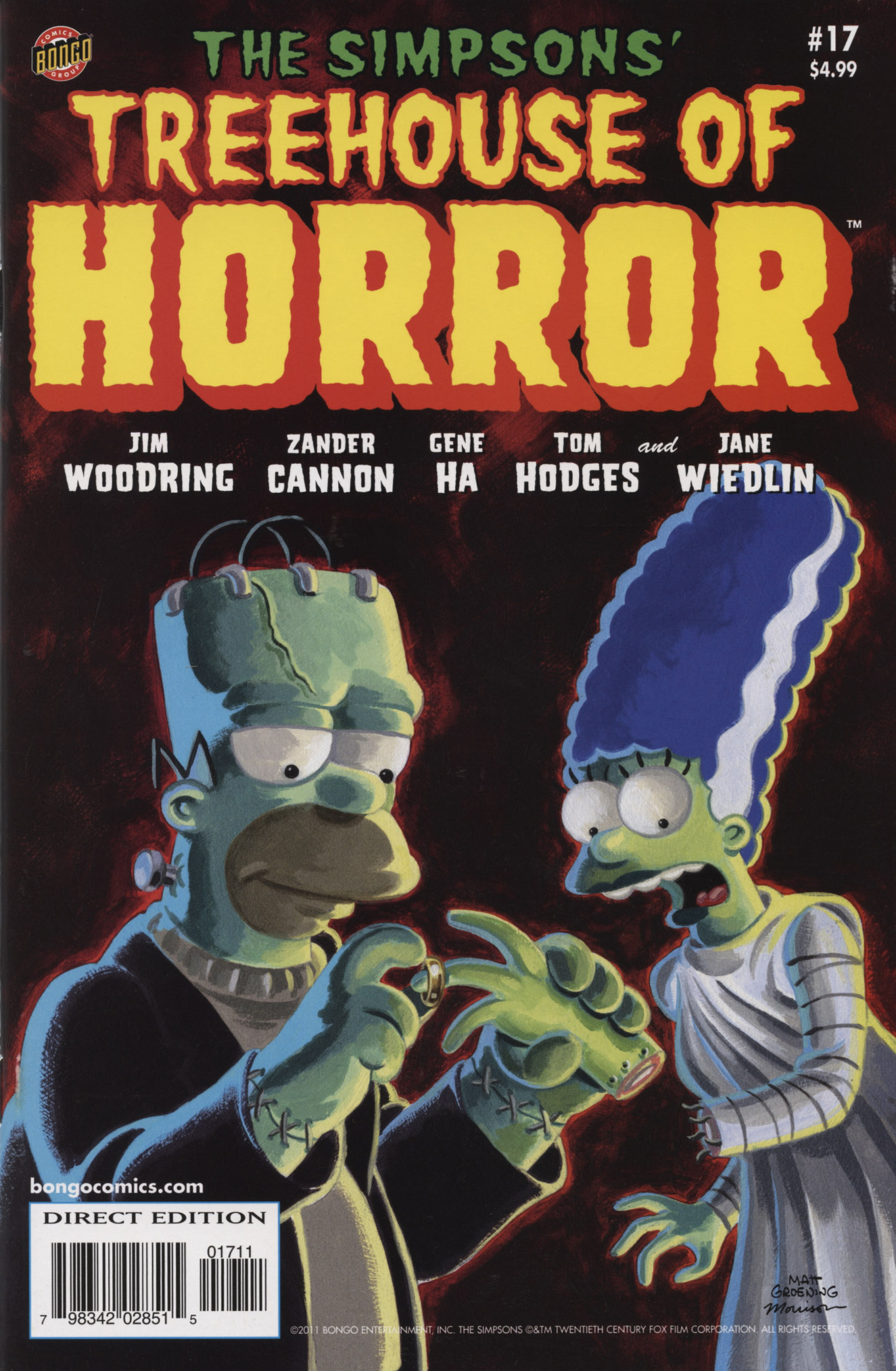 Read online Treehouse of Horror comic -  Issue #17 - 2