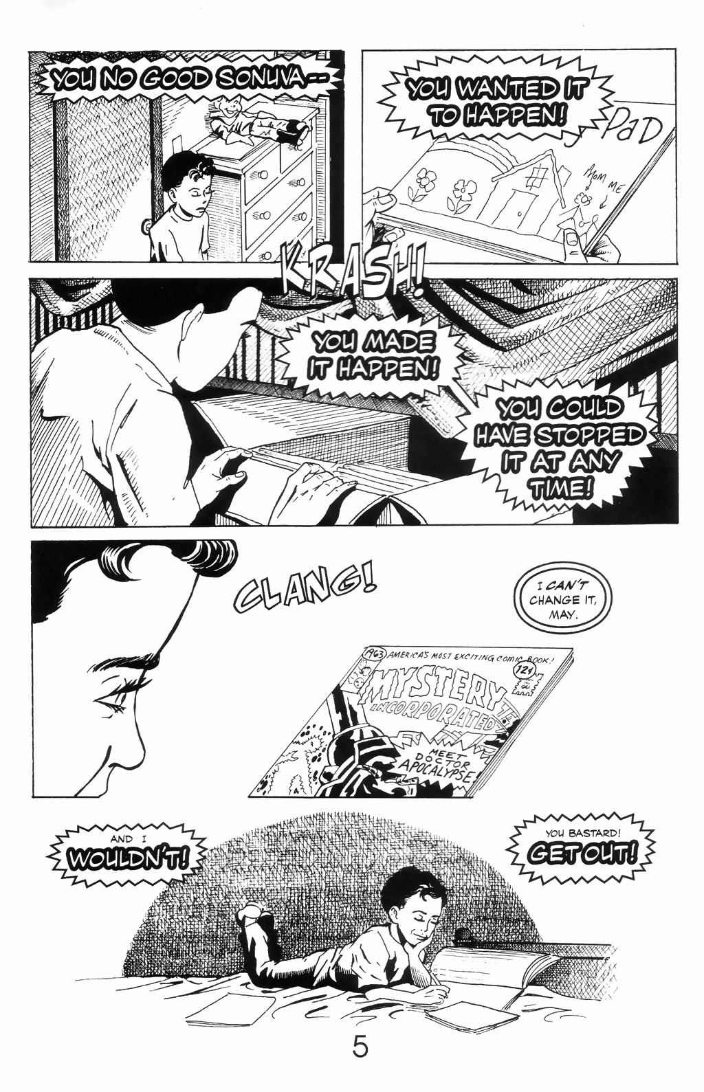 Read online A Touch of Silver comic -  Issue #4 - 7
