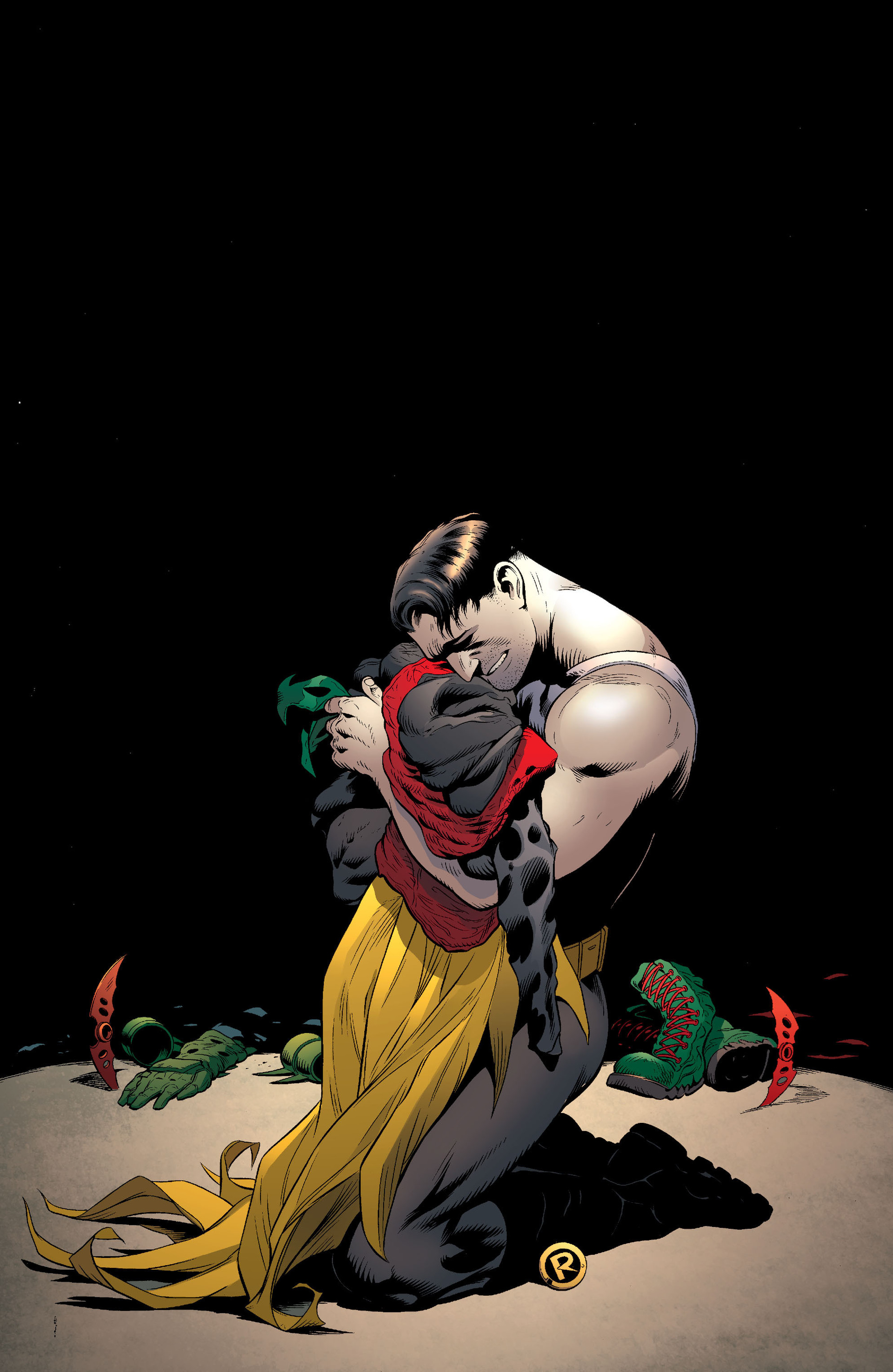 Read online Batman and Robin (2011) comic -  Issue #18 - 19