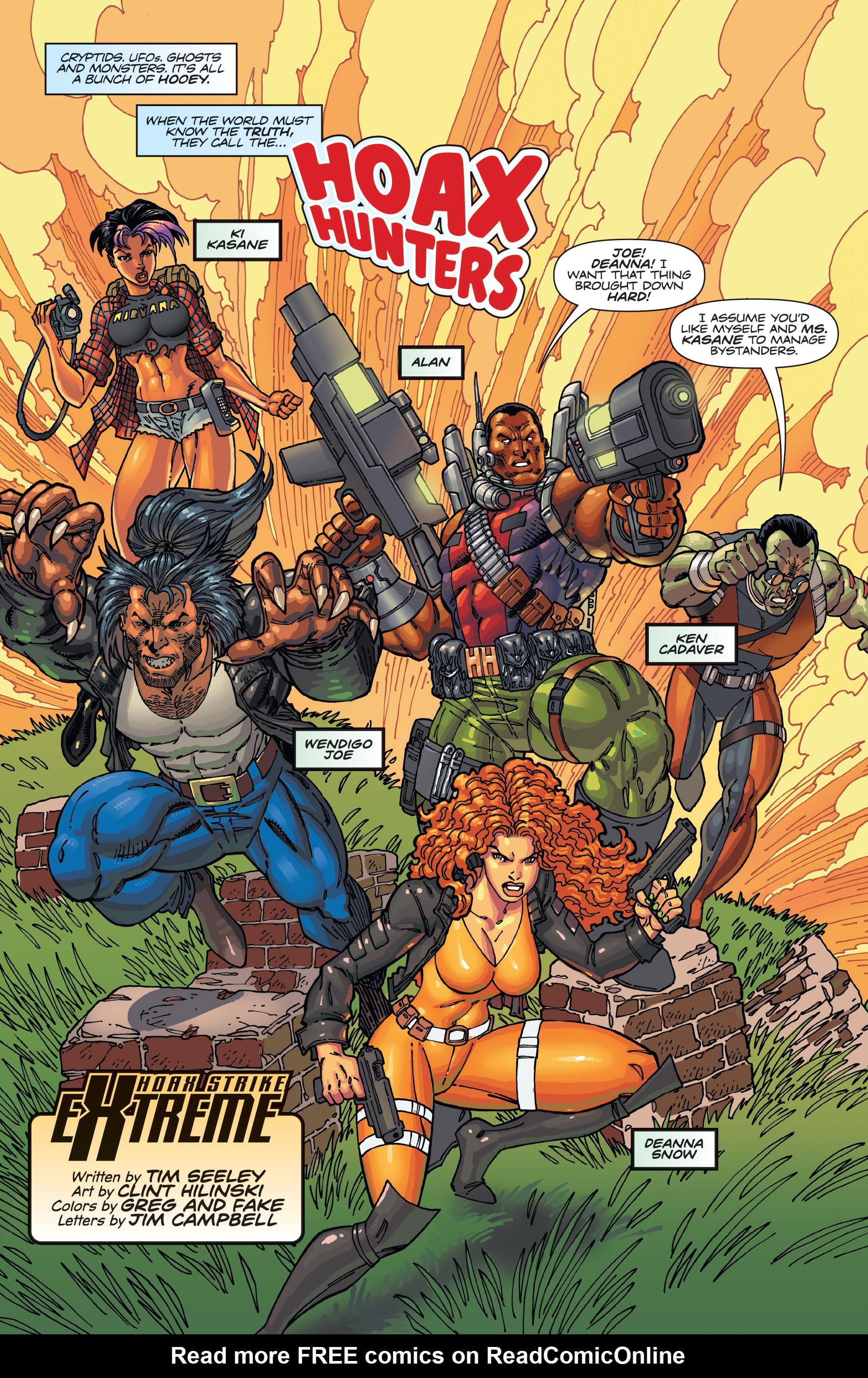 Read online Hoax Hunters (2012) comic -  Issue # TPB 3 - 103