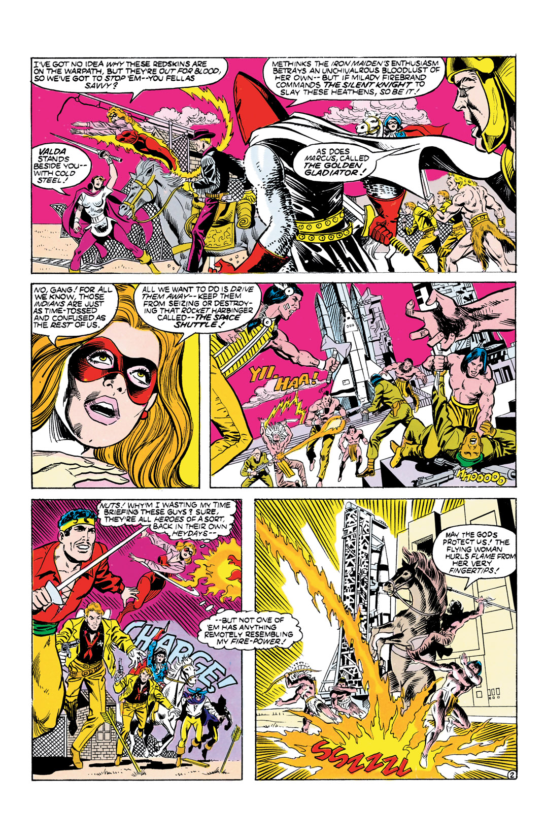 Read online All-Star Squadron comic -  Issue #55 - 3