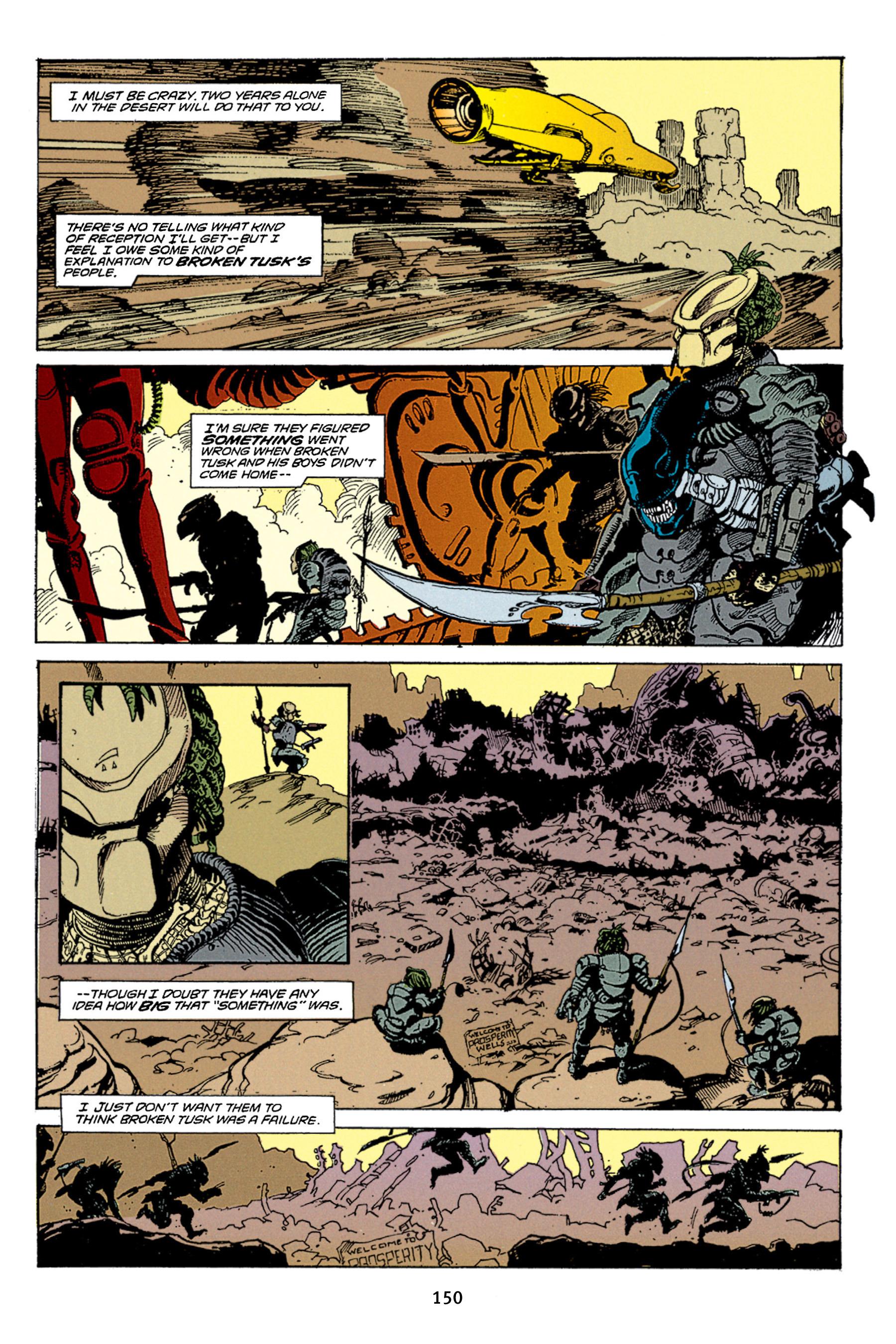 Read online Aliens vs. Predator Omnibus comic -  Issue # _TPB 1 Part 2 - 49