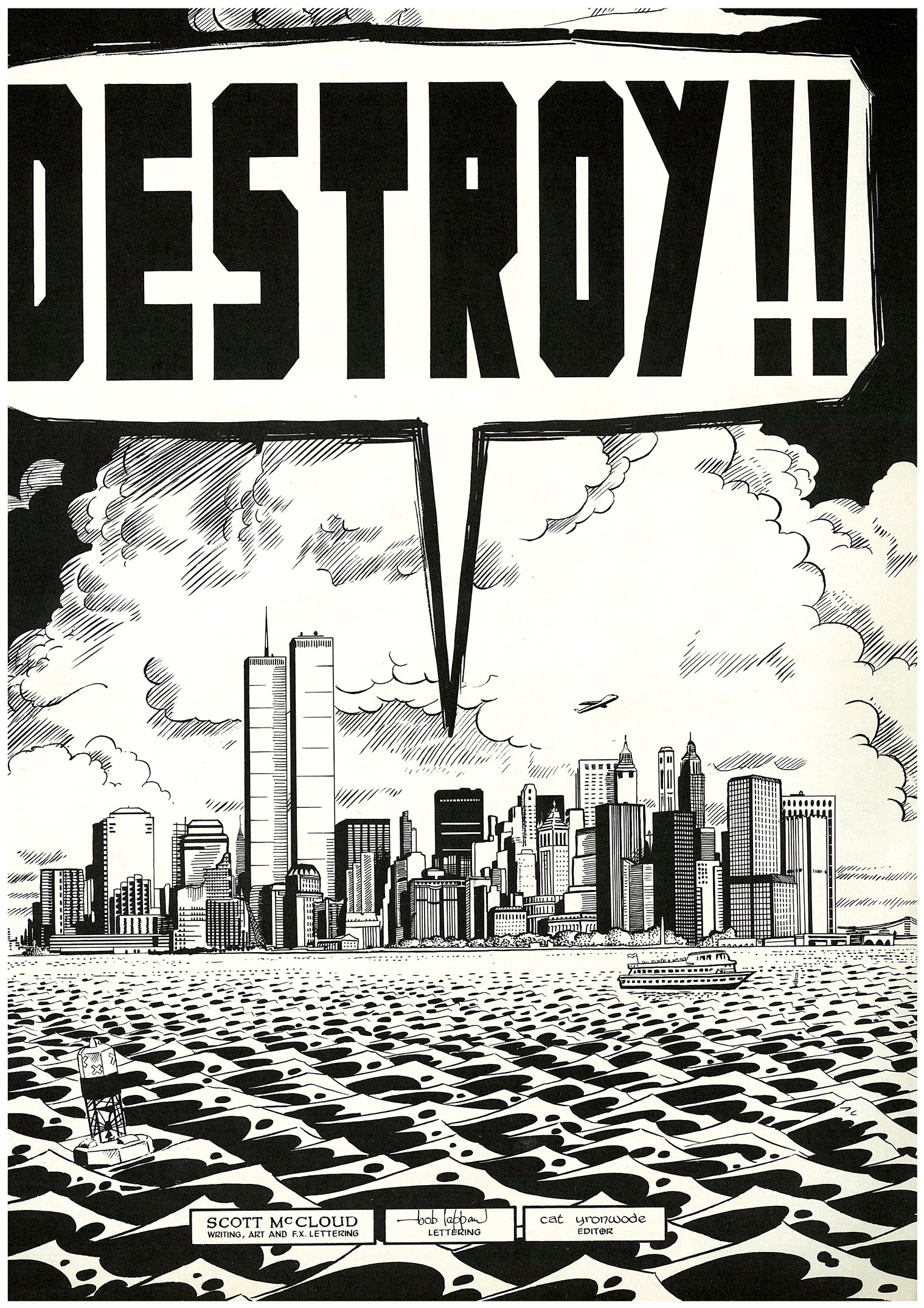 Read online Destroy!! comic -  Issue # Full - 3