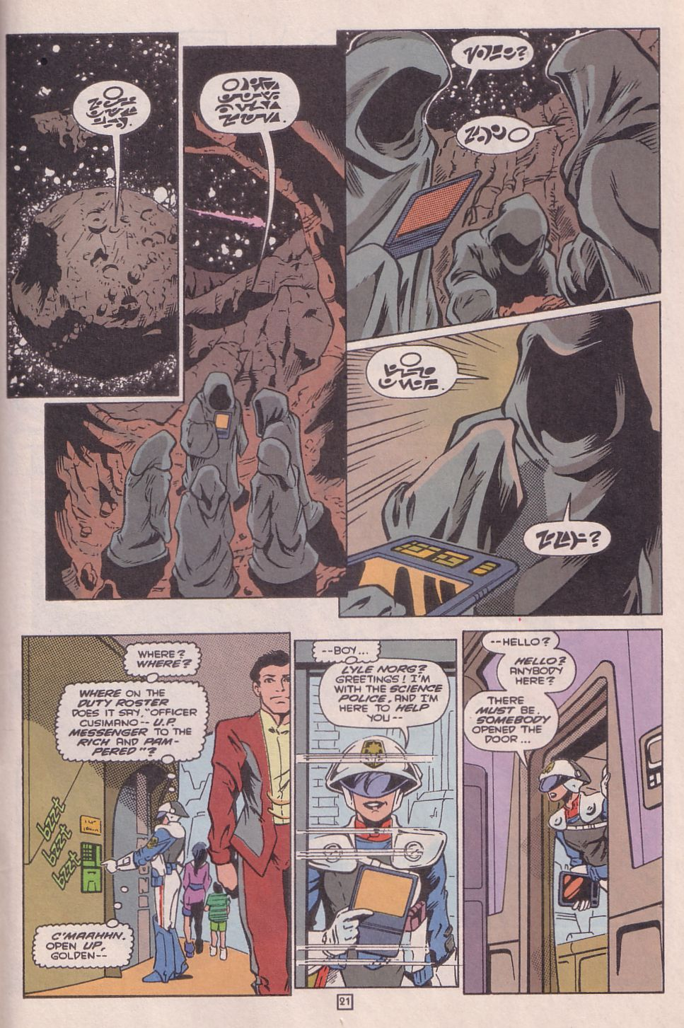 Legionnaires issue 0 - Page 22
