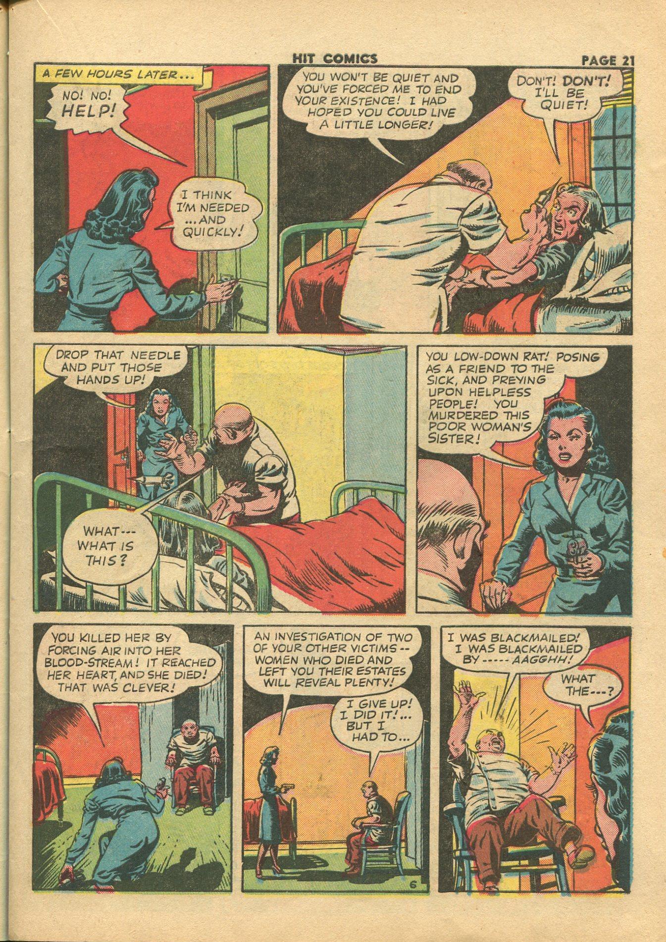 Read online Hit Comics comic -  Issue #28 - 24