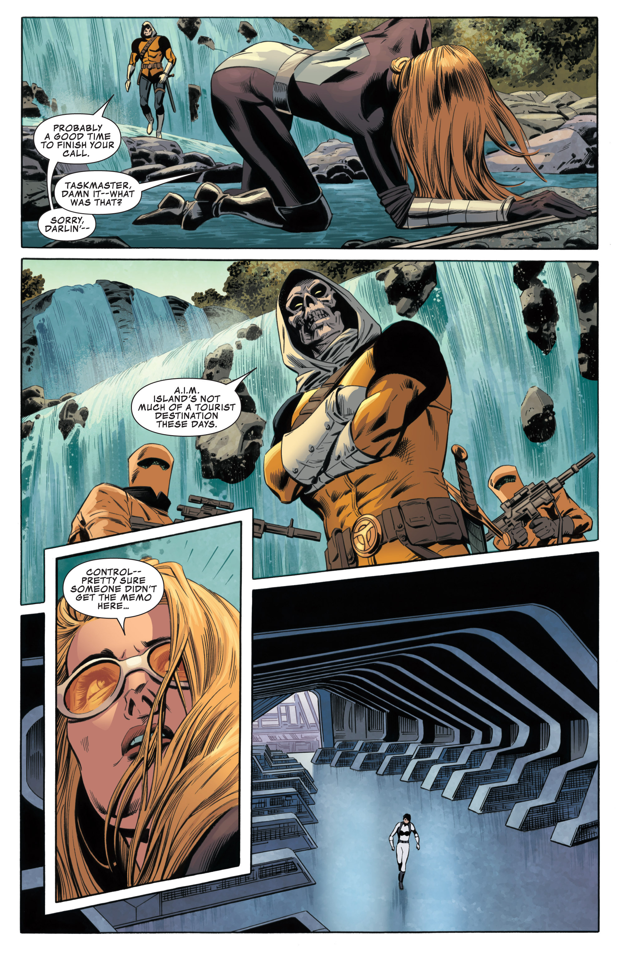 Read online Secret Avengers (2013) comic -  Issue #6 - 11