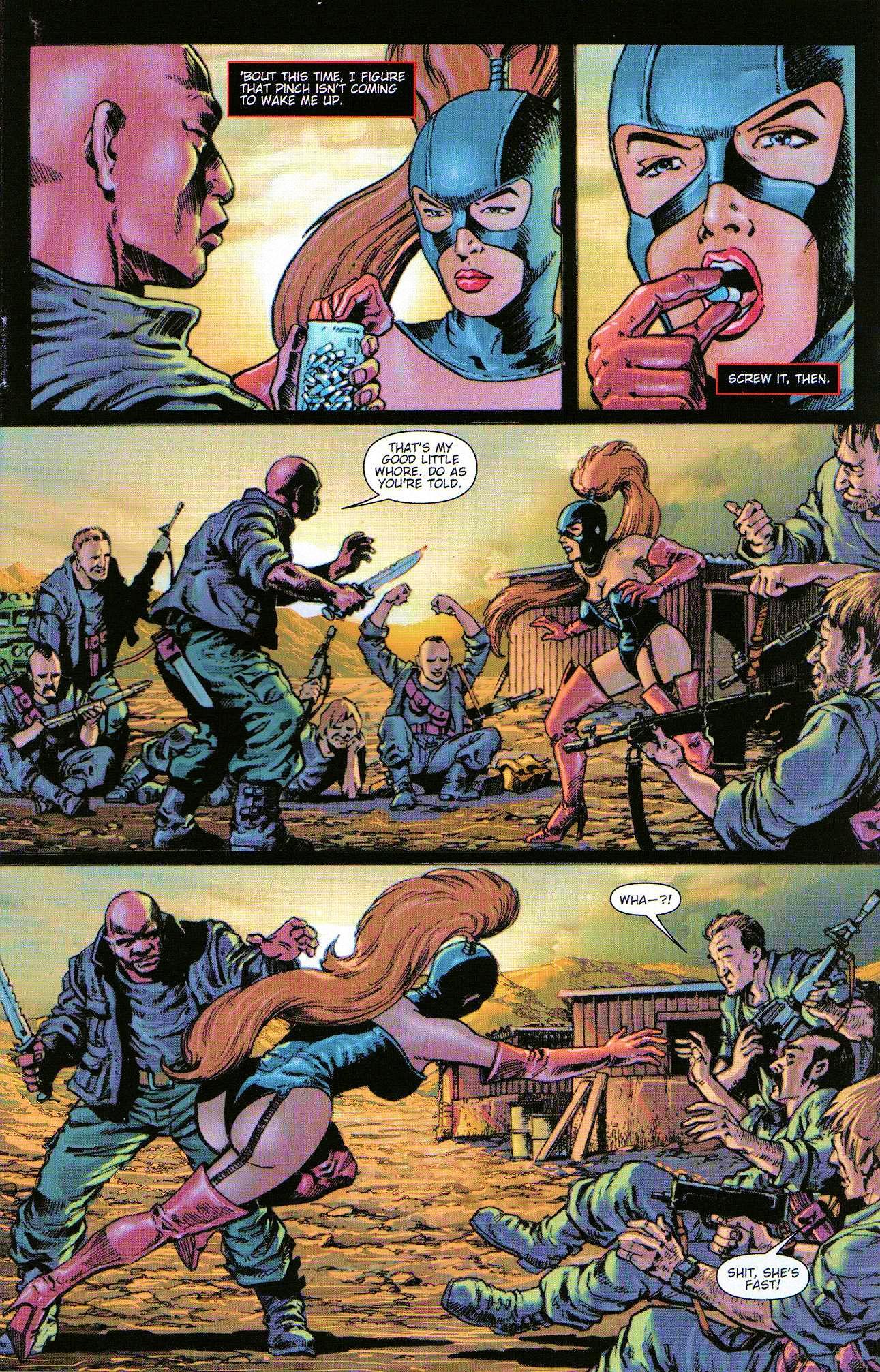 Read online Dominatrix comic -  Issue #3 - 5
