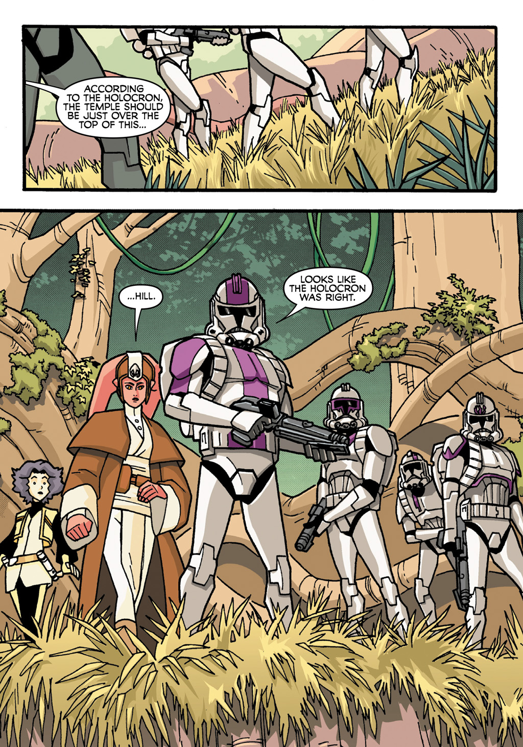 Read online Star Wars: The Clone Wars - Defenders of the Lost Temple comic -  Issue # Full - 6