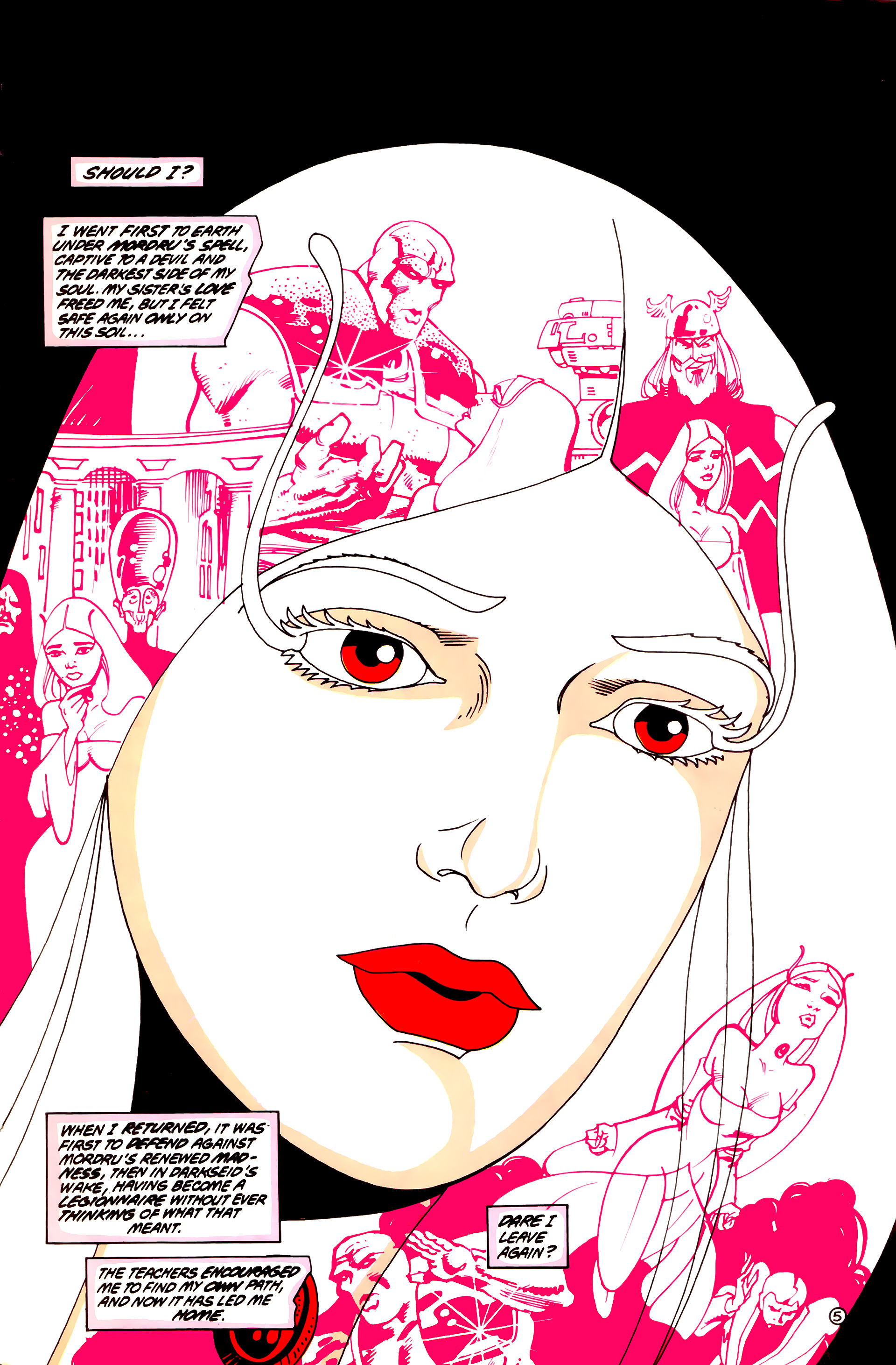Legion of Super-Heroes (1984) 55 Page 5