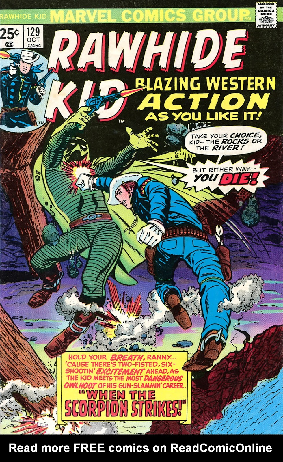 The Rawhide Kid (1955) issue 129 - Page 1