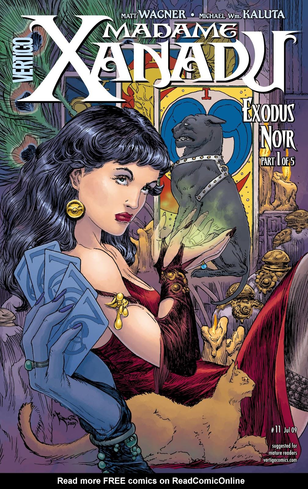 Madame Xanadu issue 11 - Page 1