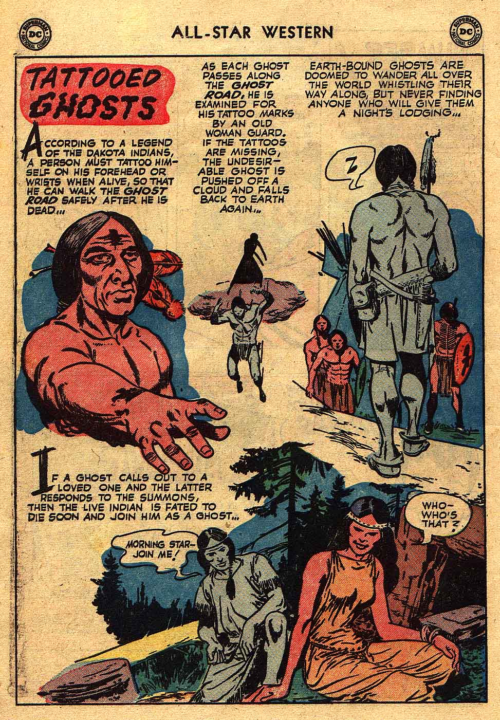 Read online All-Star Western (1951) comic -  Issue #70 - 10