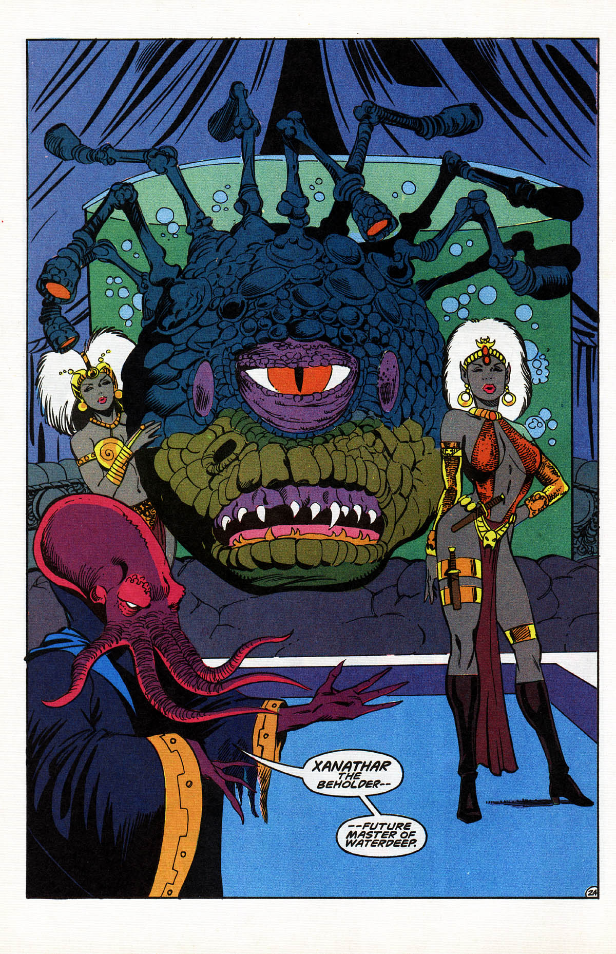 Read online Advanced Dungeons & Dragons comic -  Issue #10 - 29
