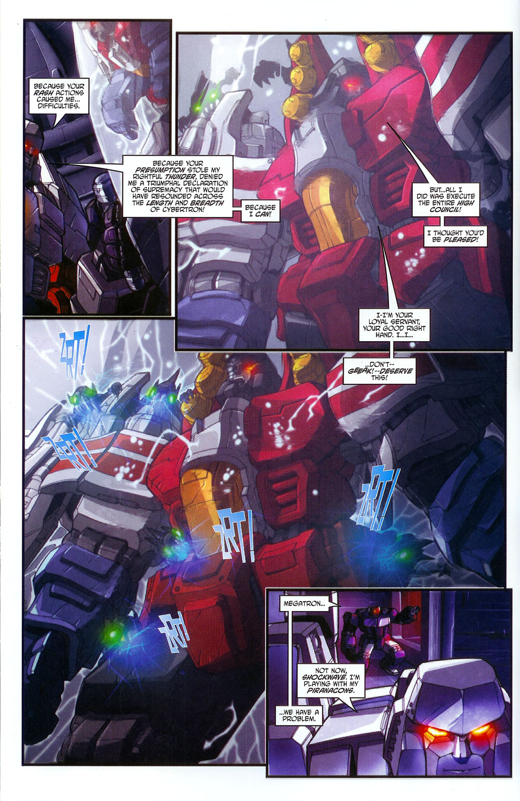 """Read online Transformers War Within: """"The Age of Wrath"""" comic -  Issue #2 - 5"""