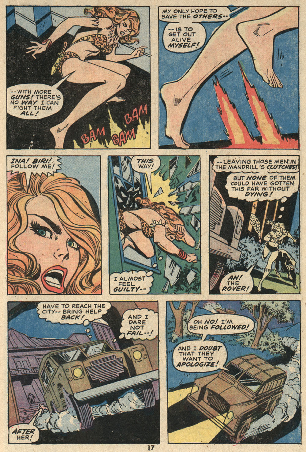 Read online Shanna, the She-Devil (1972) comic -  Issue #4 - 13