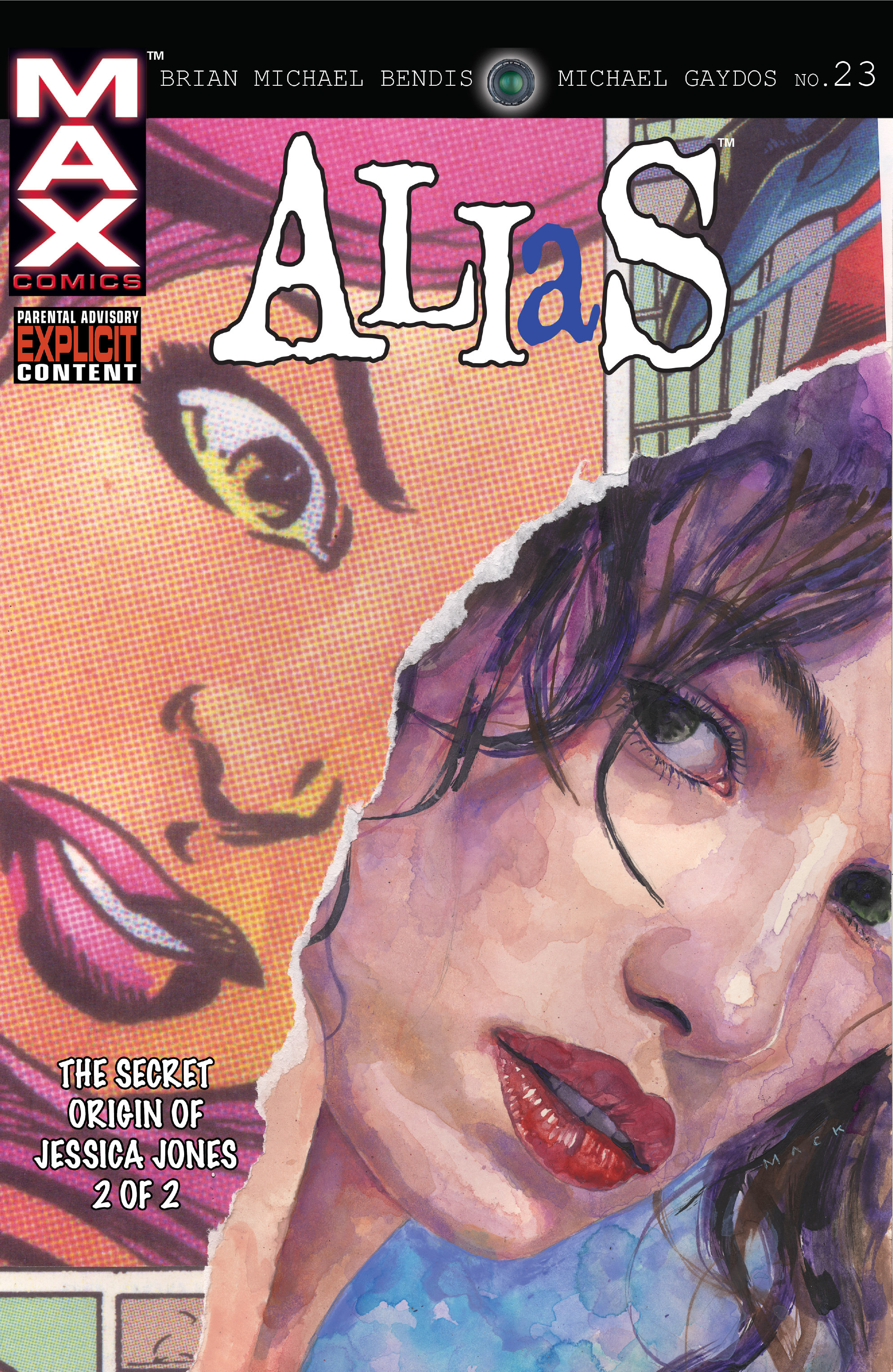 Read online Alias comic -  Issue #23 - 1