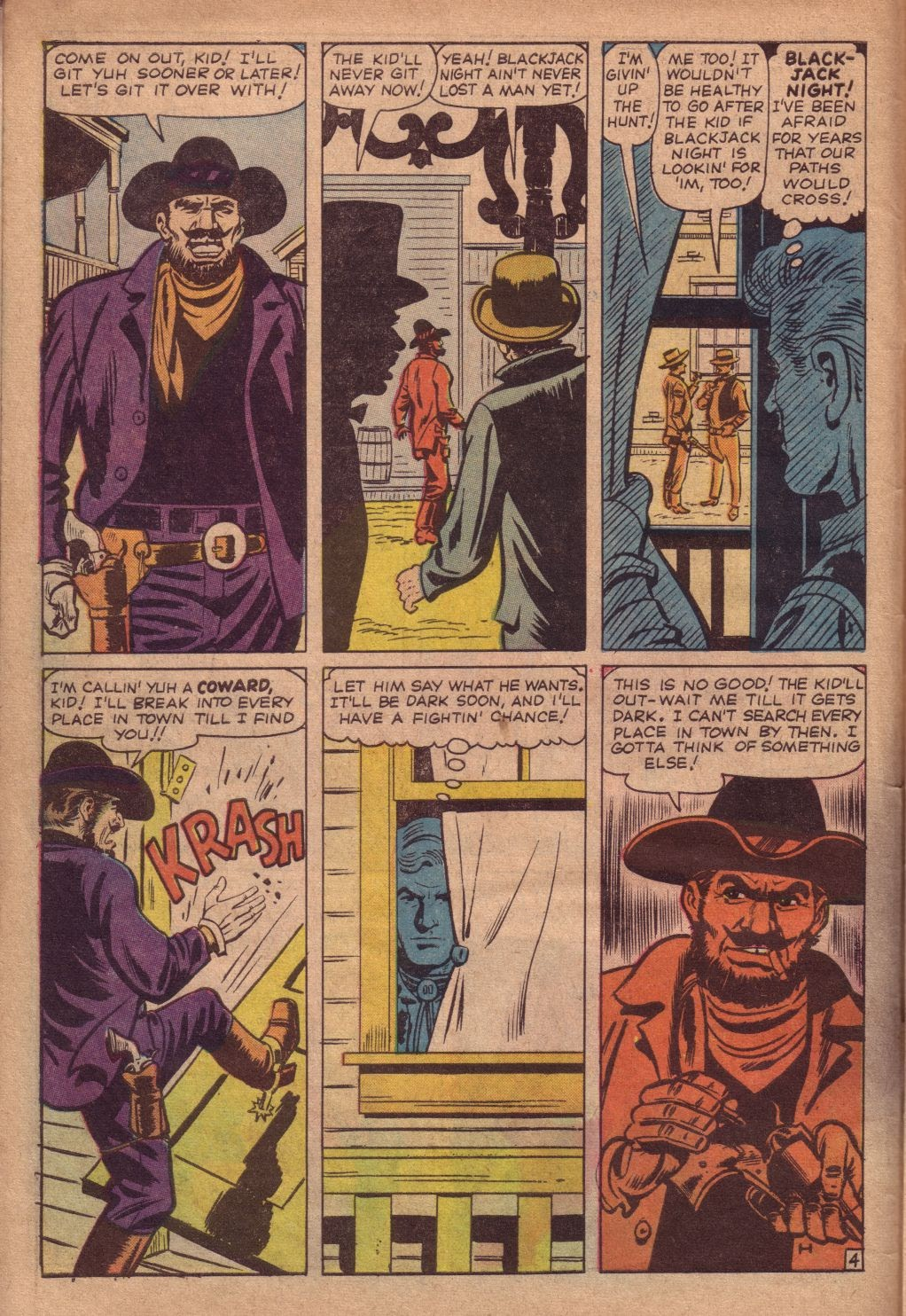 Gunsmoke Western issue 67 - Page 6