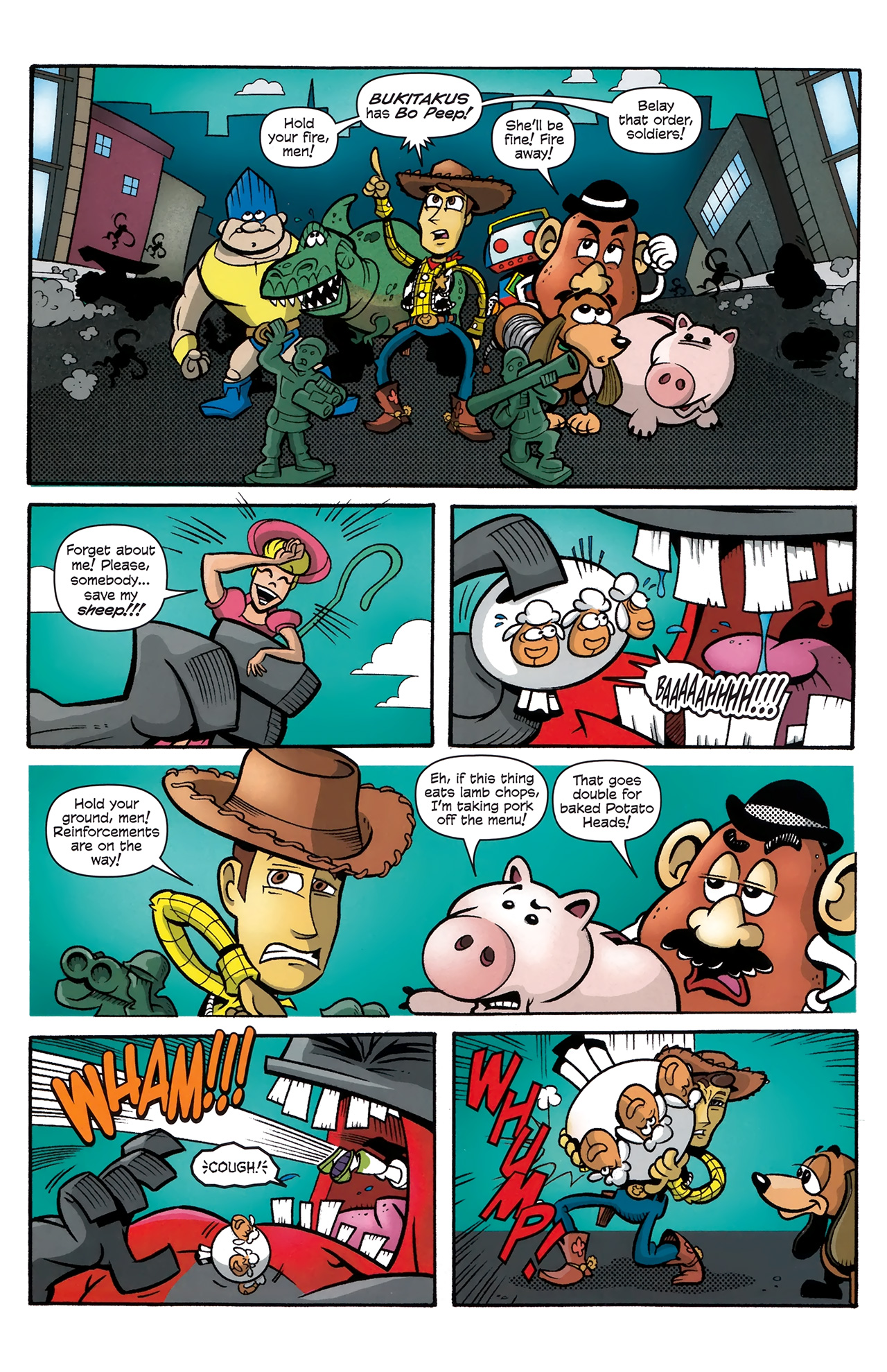 Read online Toy Story (2009) comic -  Issue #4 - 4