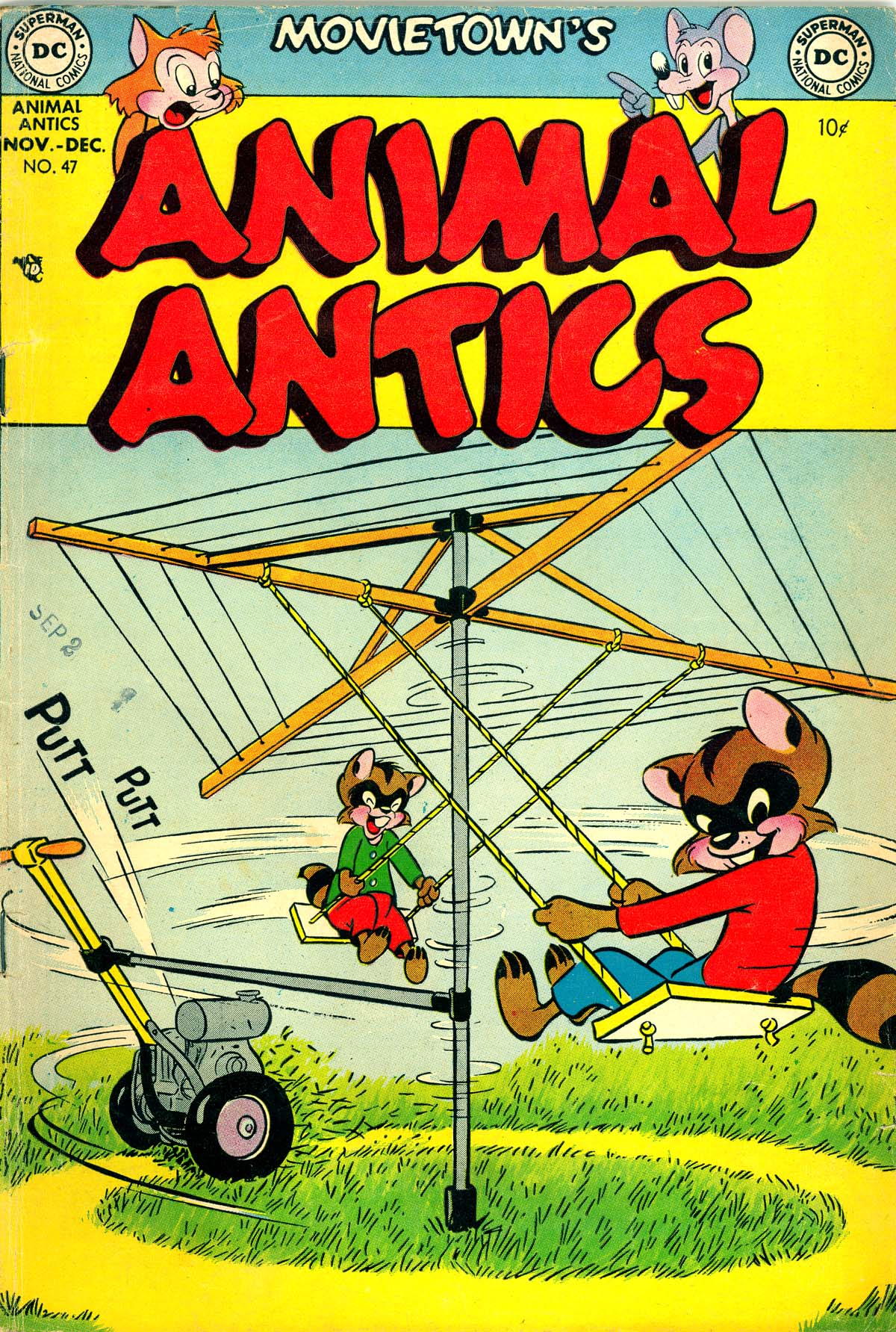 Read online Animal Antics comic -  Issue #47 - 1