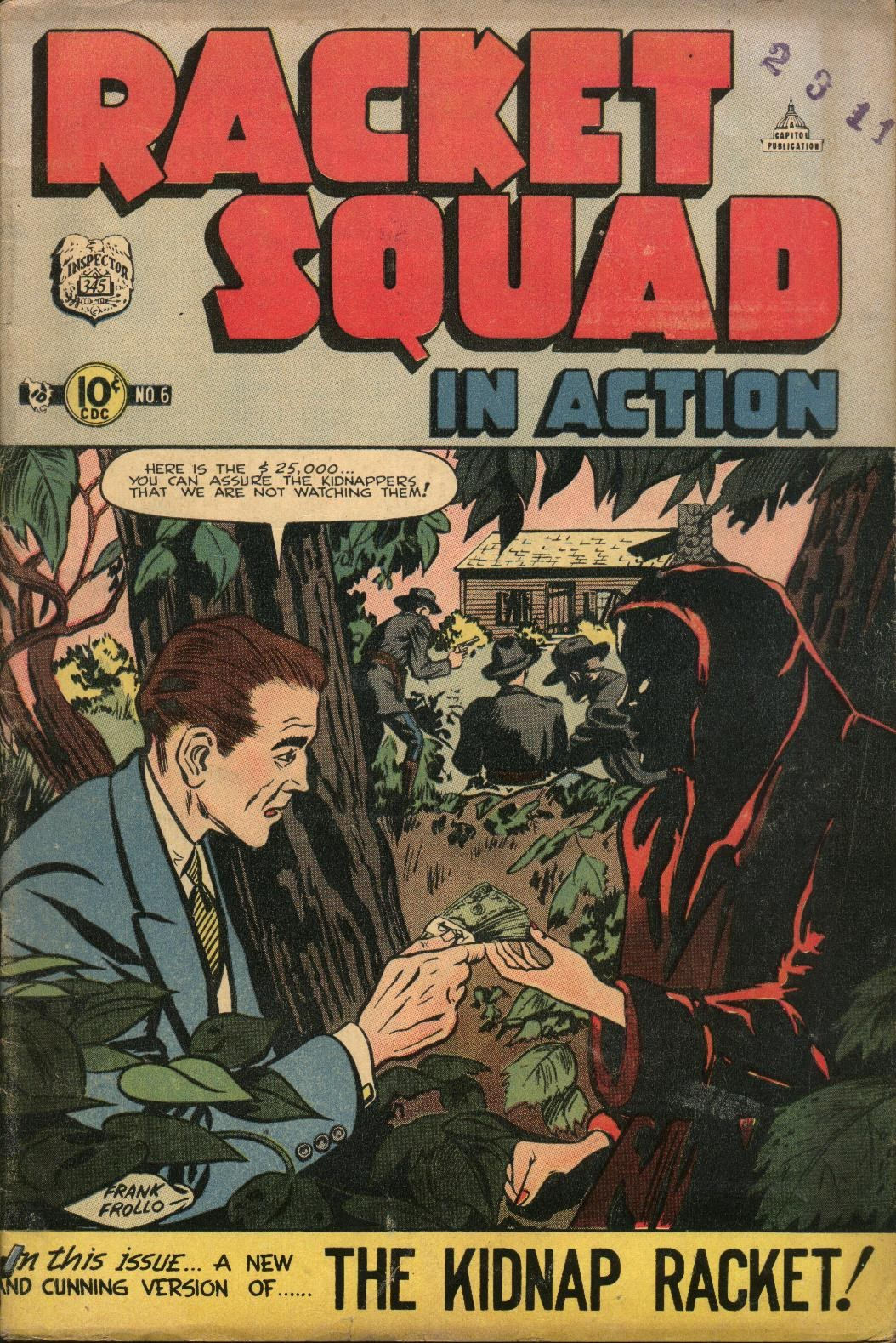 Read online Racket Squad in Action comic -  Issue #6 - 1