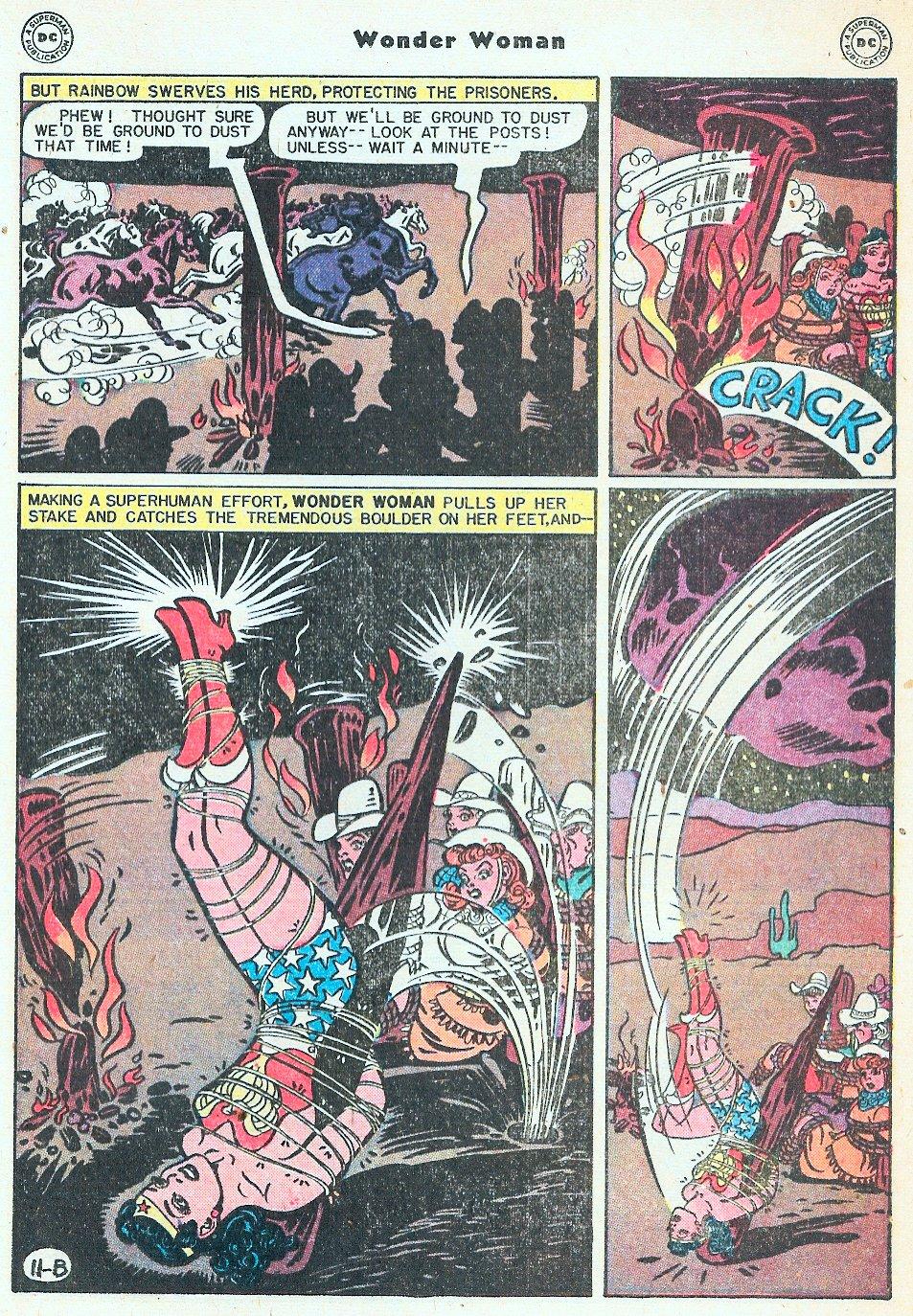 Read online Wonder Woman (1942) comic -  Issue #27 - 31