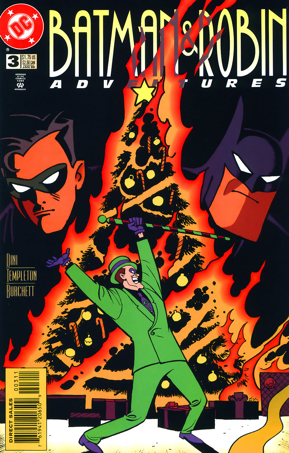 The Batman and Robin Adventures issue 3 - Page 1