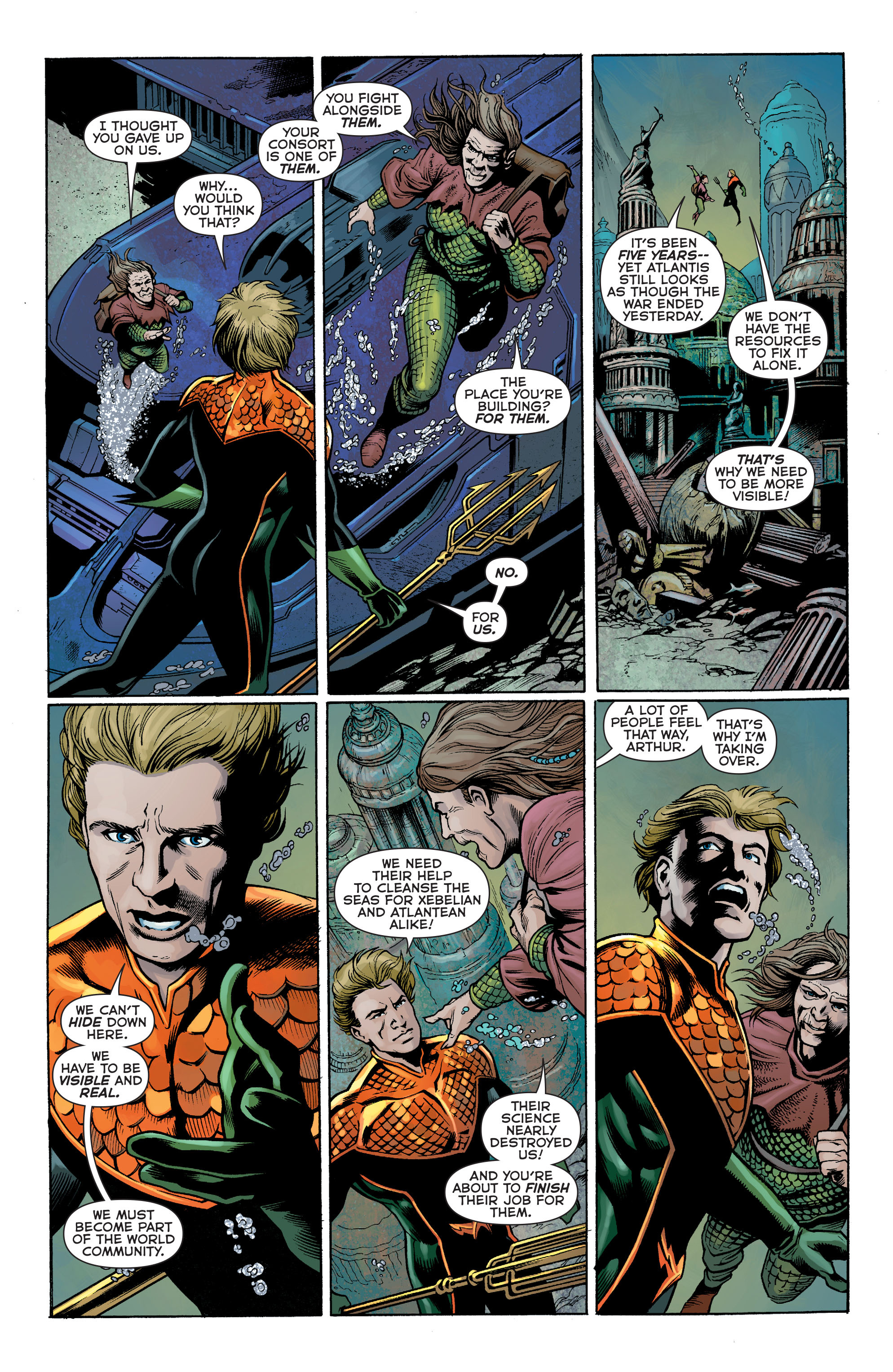 Read online Aquaman: Futures End comic -  Issue #Aquaman: Futures End Full - 15