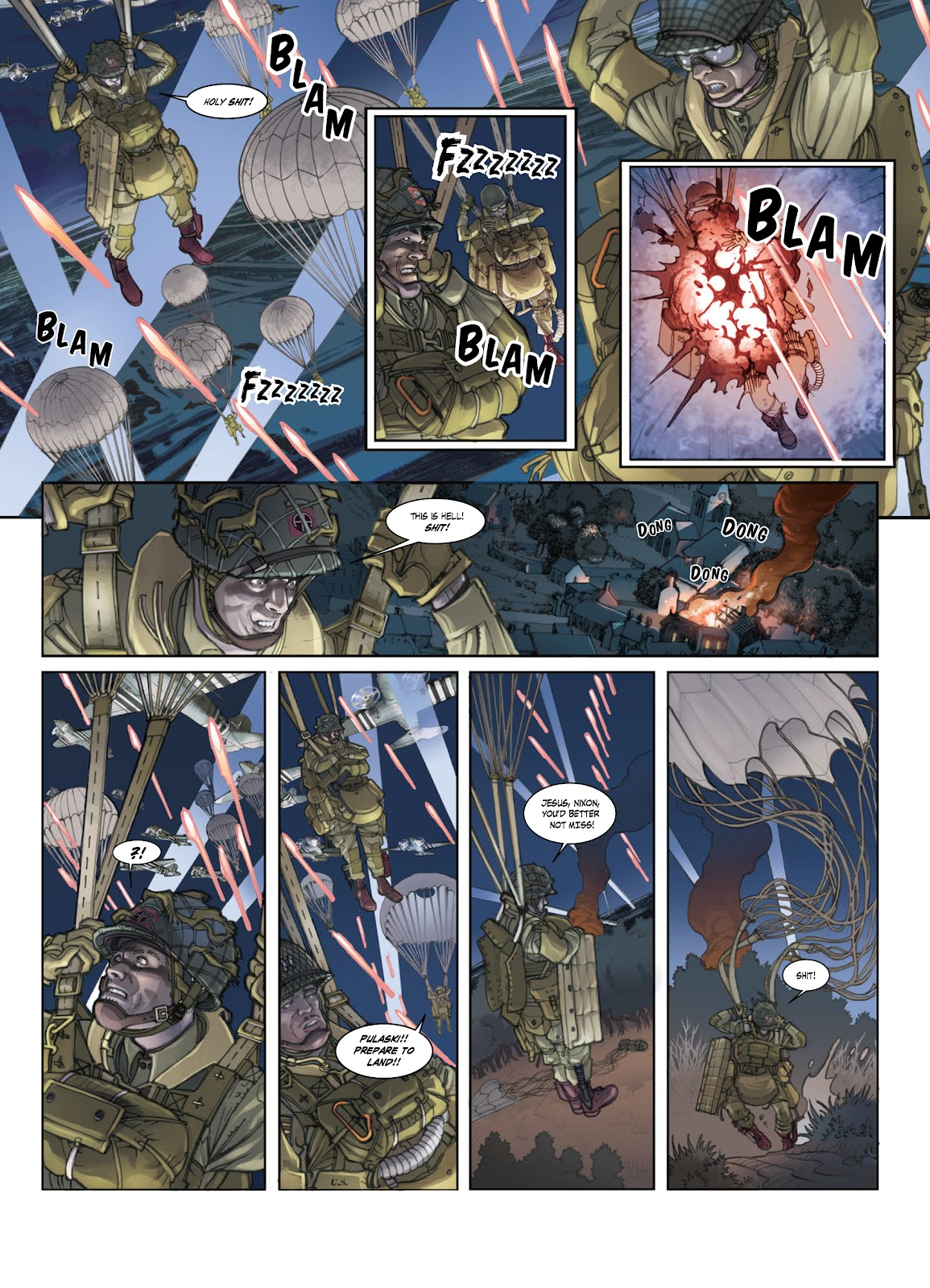 Read online Opération Overlord comic -  Issue #1 - 13