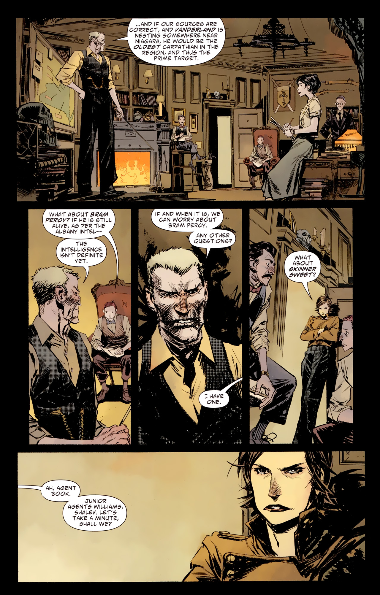 Read online American Vampire: Survival of the Fittest comic -  Issue #1 - 13