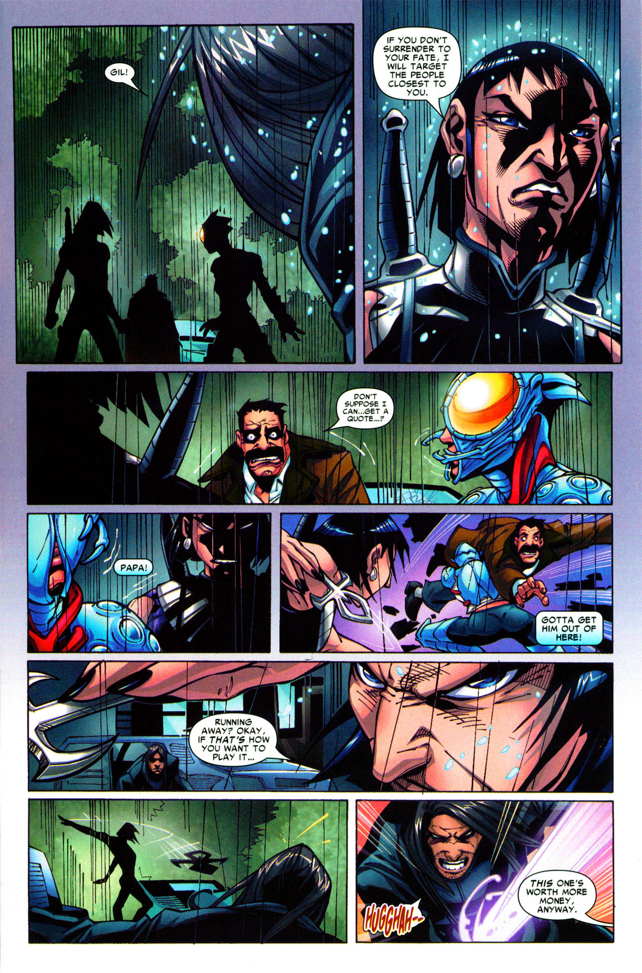 Read online Araña: Heart of the Spider comic -  Issue #3 - 21