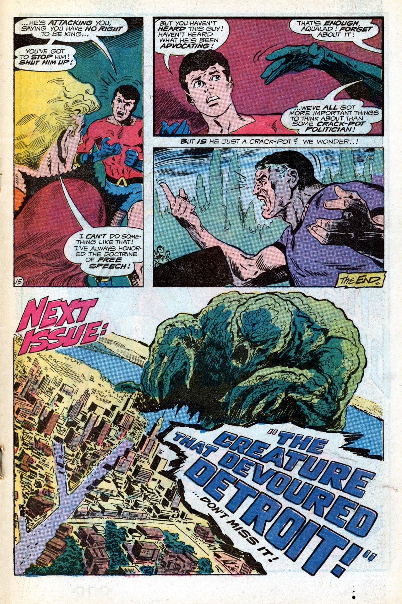 Read online Aquaman (1962) comic -  Issue #55 - 19