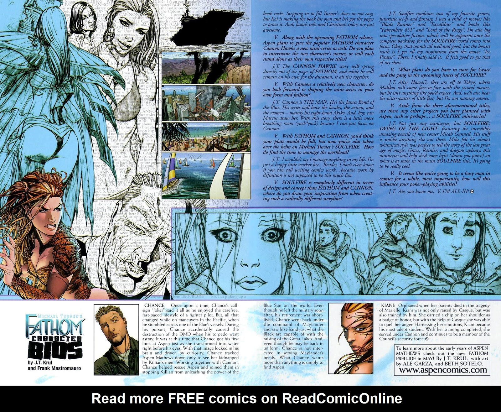 Read online Fathom Beginnings comic -  Issue # Full - 11
